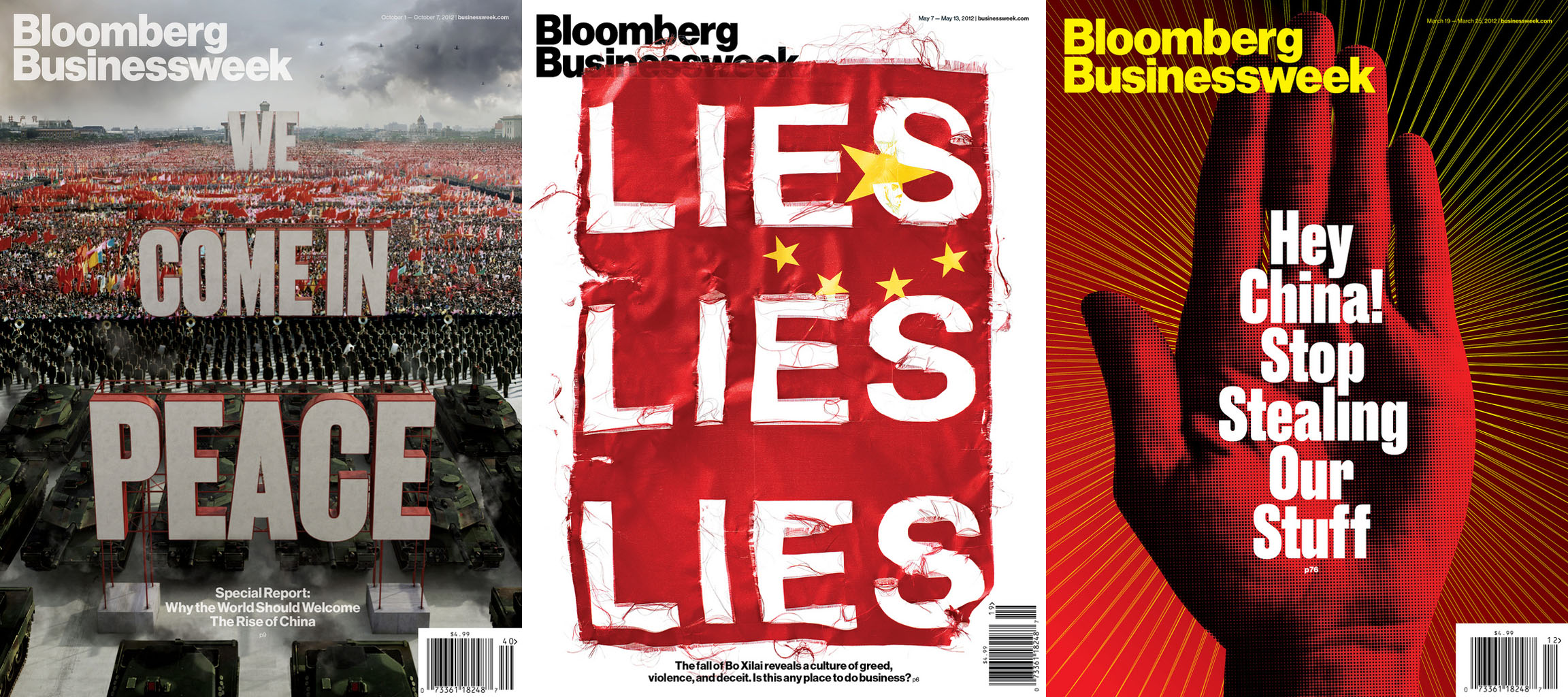 Businessweek covers about China