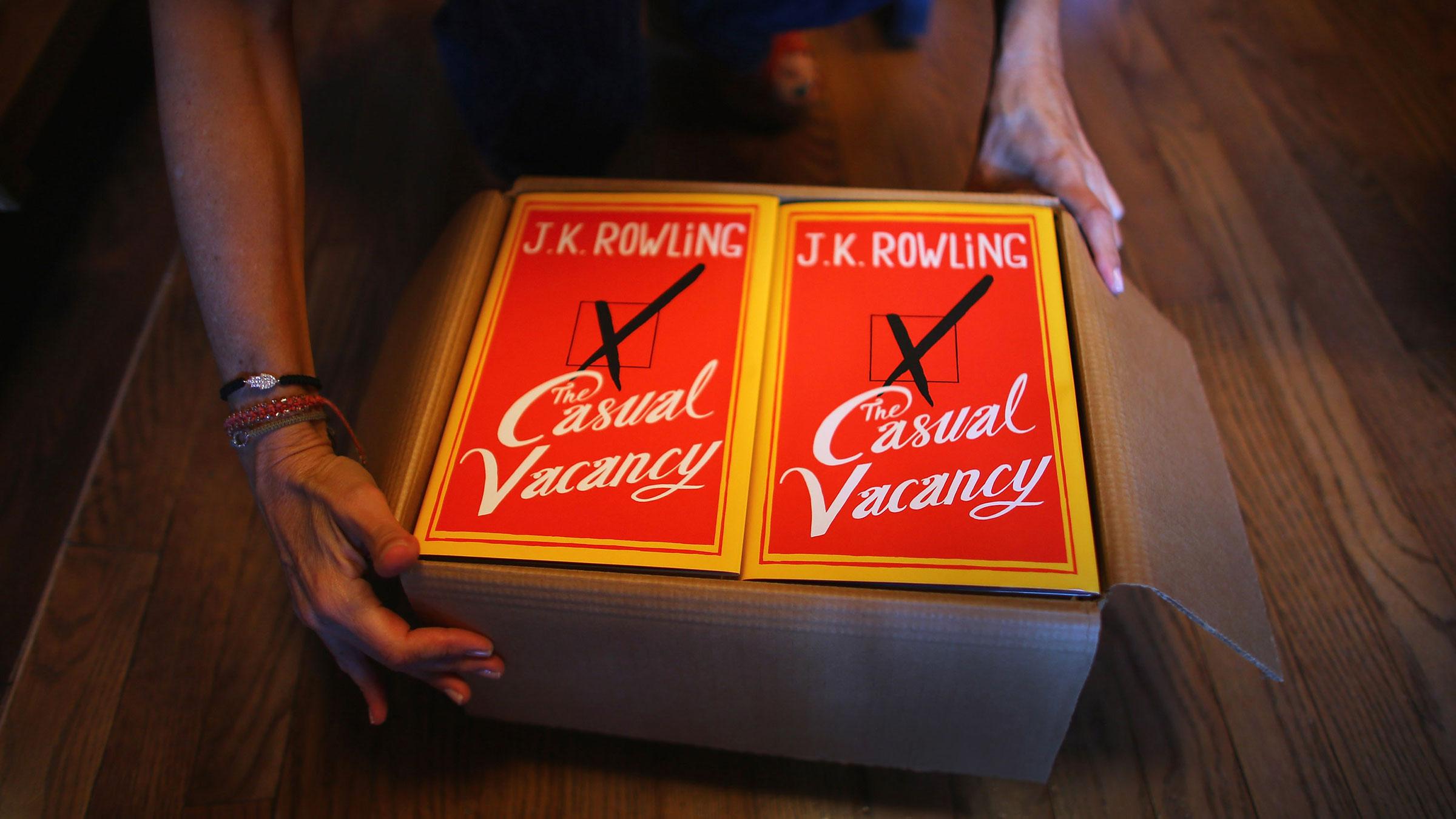 Casual Vacancy book 9272012