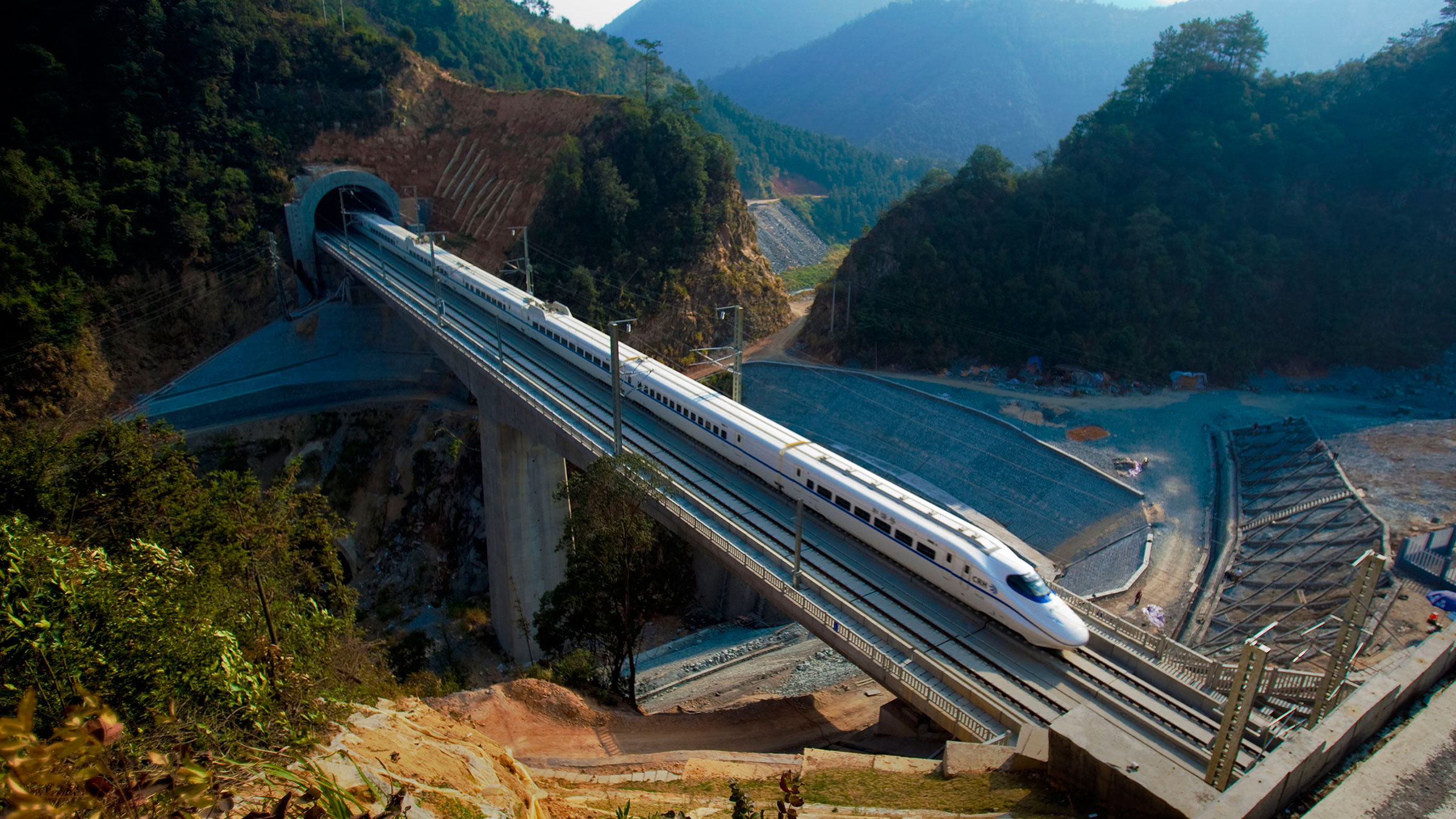 Amtrak is trying to catch up to China's high speeds.