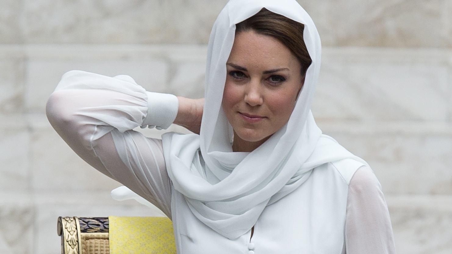 Protecting Kate Middleton's modesty is an international affair.
