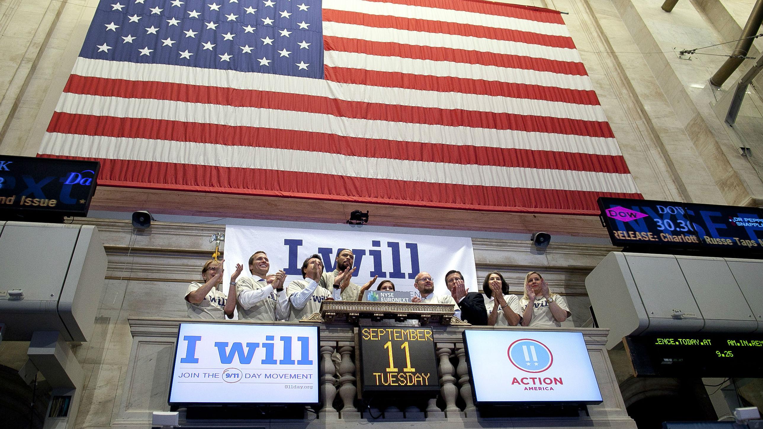 New York Stock Exchange on September 11th
