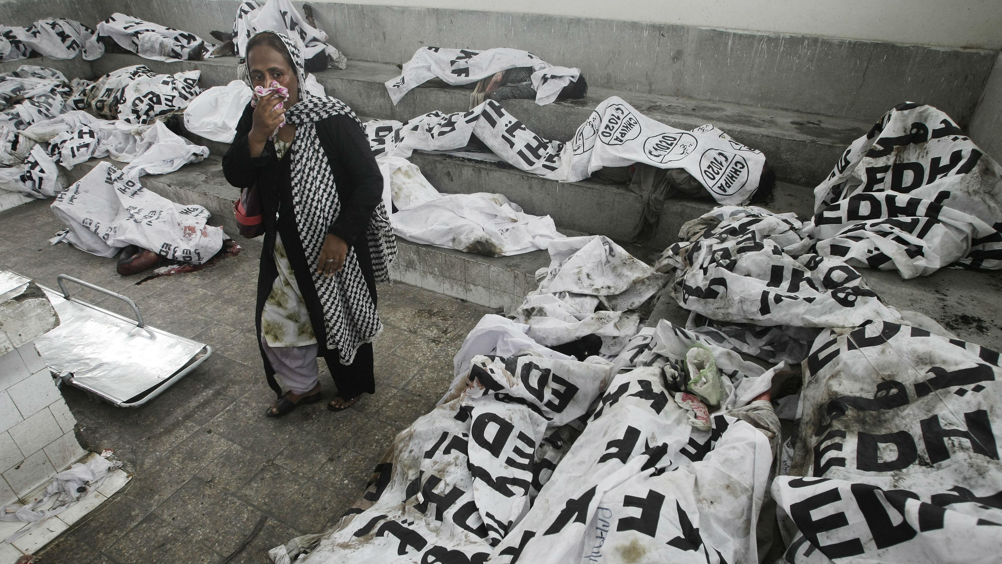 Pakistan Fire Casualities