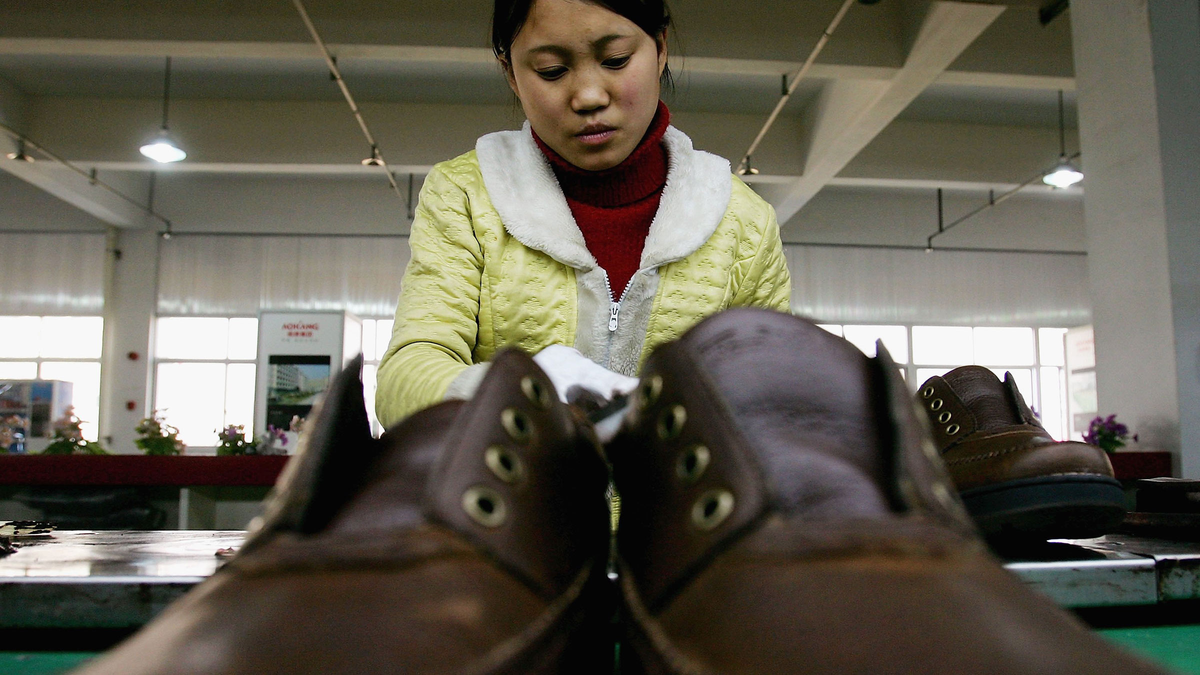Shoe Factory China 9272012