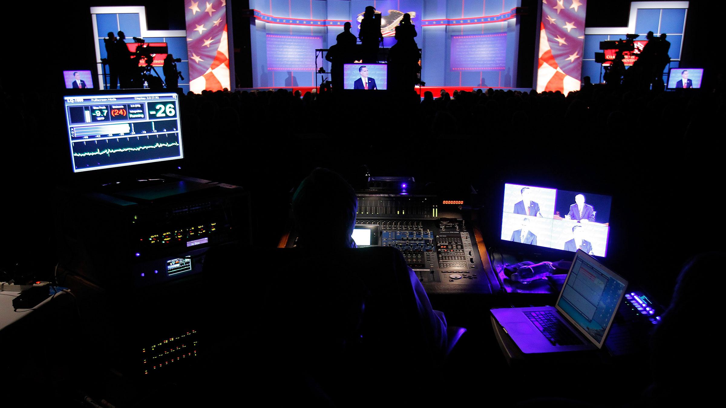 Debate Backstage 10052012