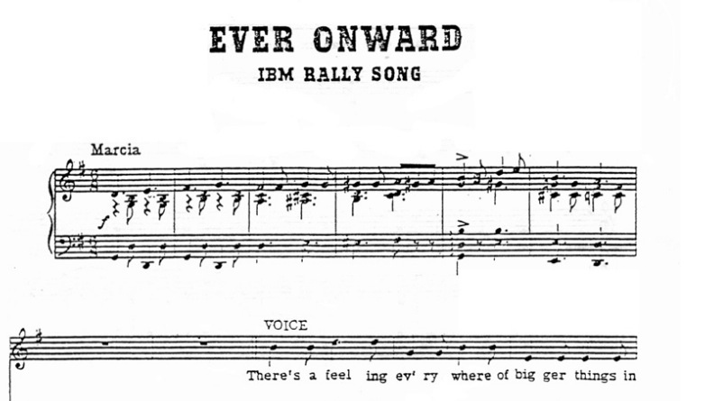 From the IBM Songbook.