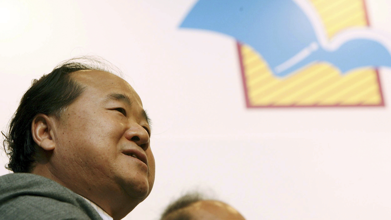 Mo Yan, 2012 Nobel Prize laureate for literature.