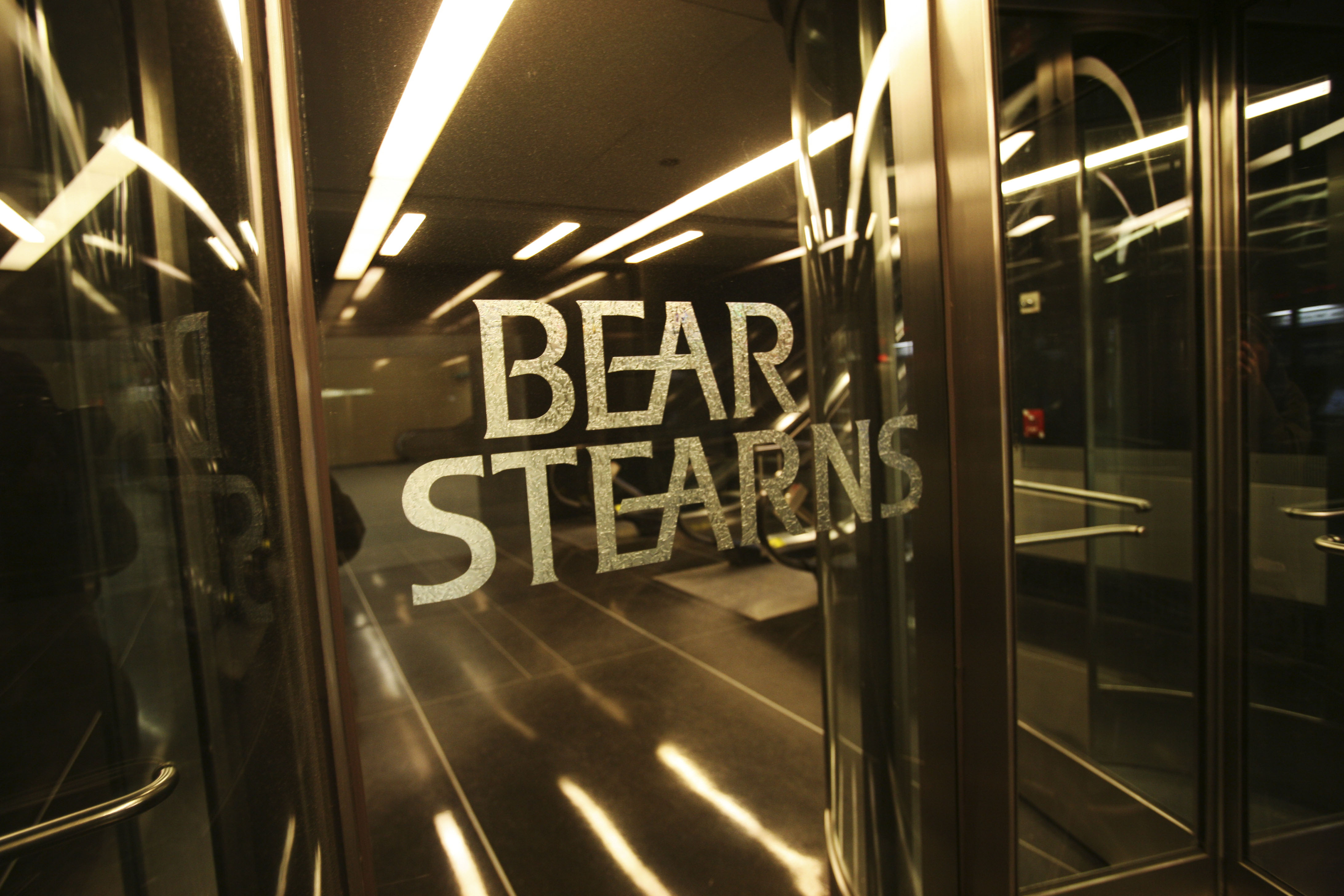 Bear Stearns was acquired by JP Morgan in March 2008.