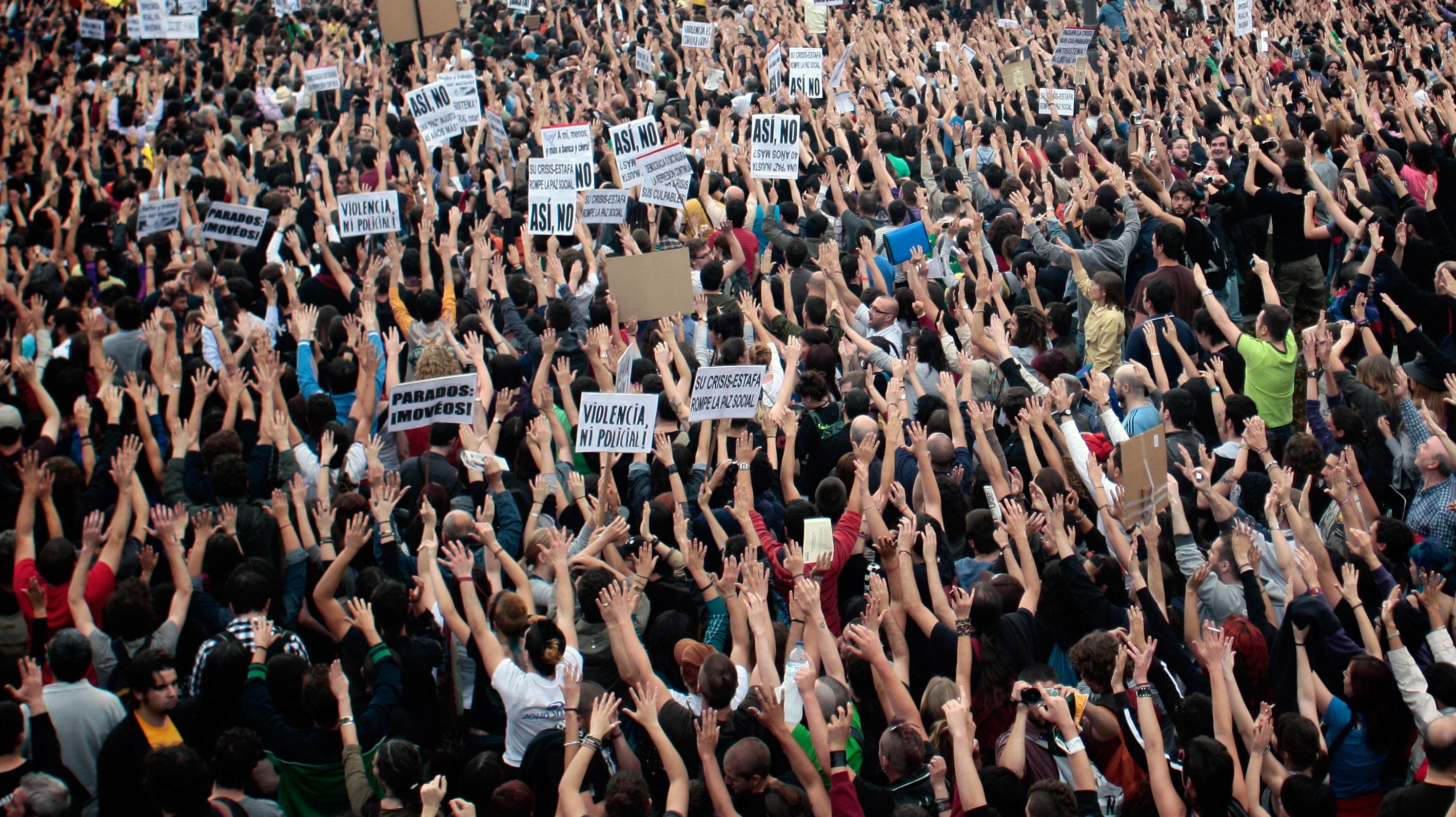 Spain Crisis Protest