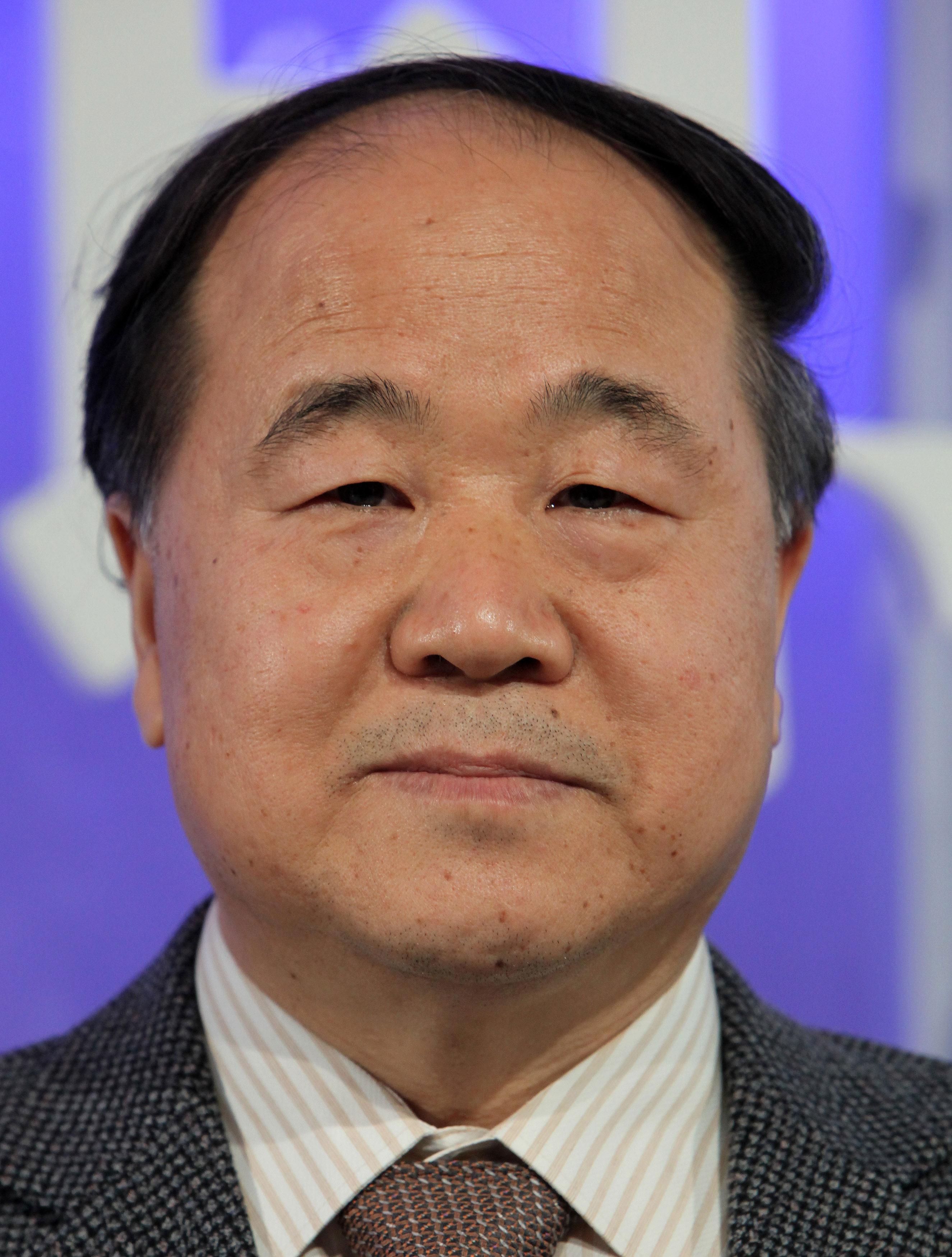 Chinese author Mo Yan