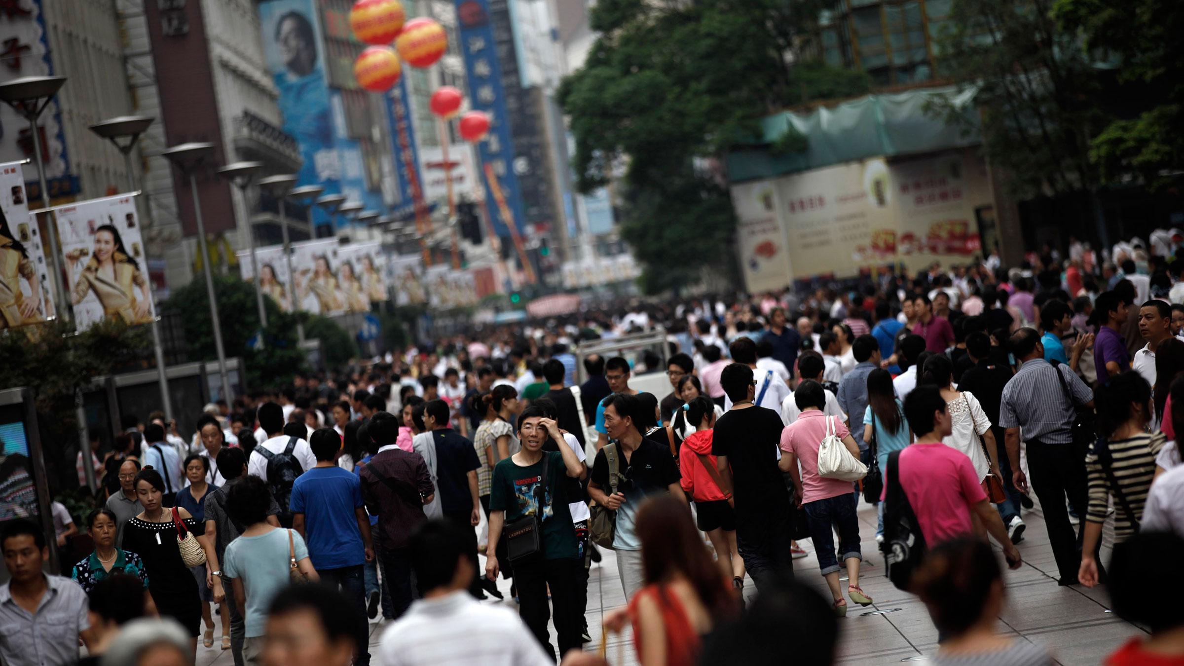 China Crowd 10182012