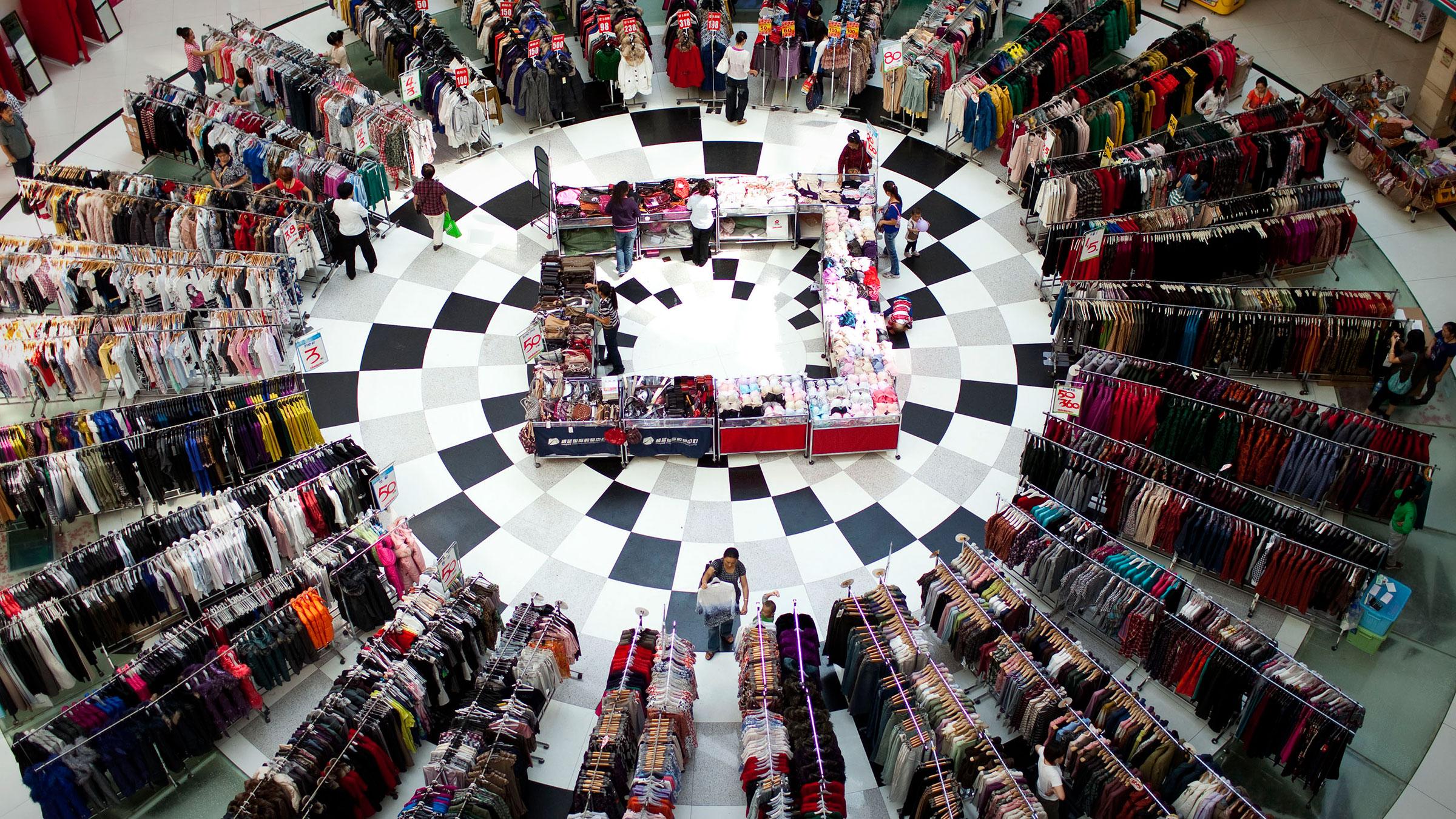 Clothing Store Beijing 10182012