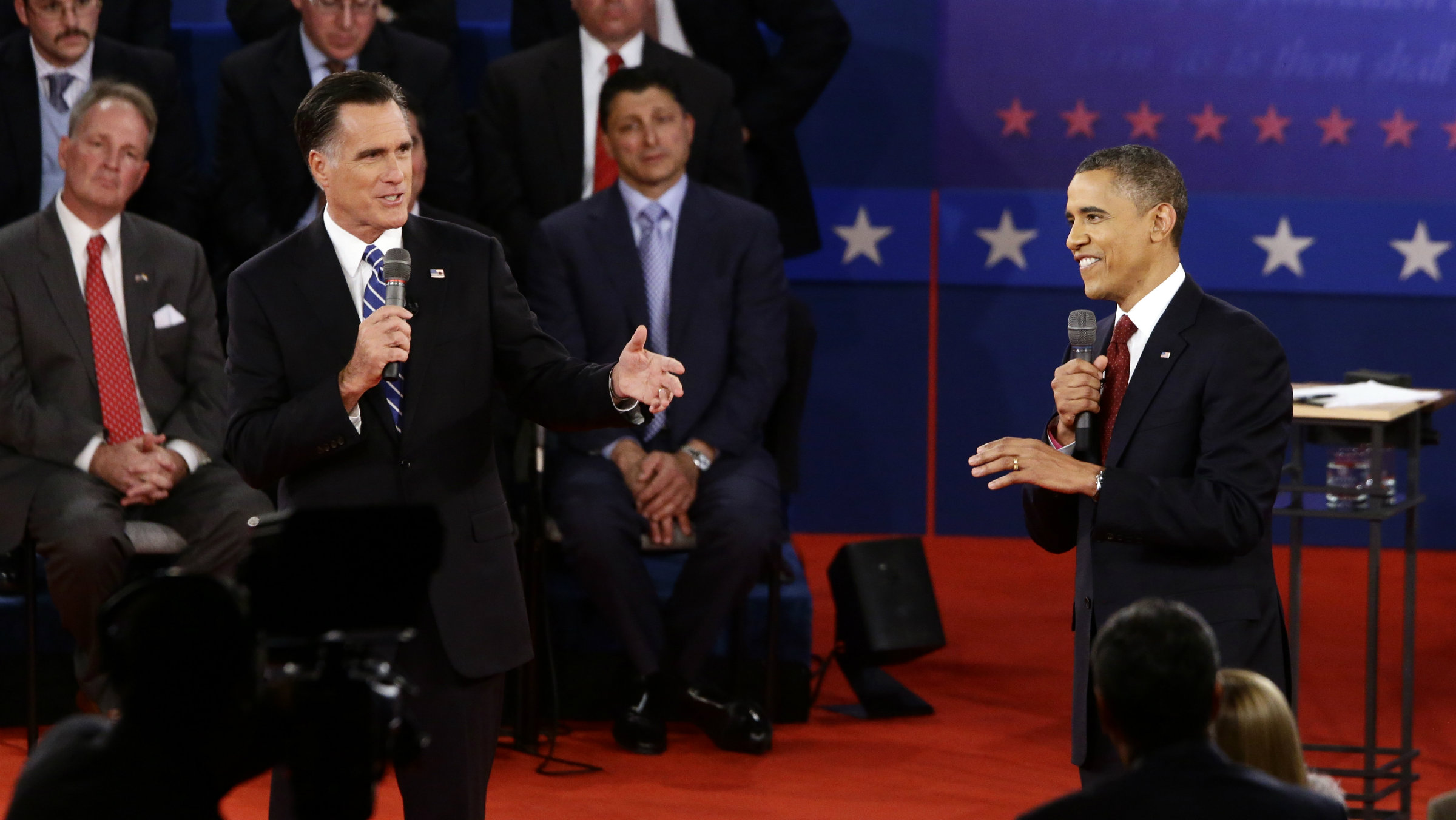 President Obama turned in a better performance in the town-hall format than the first debate.
