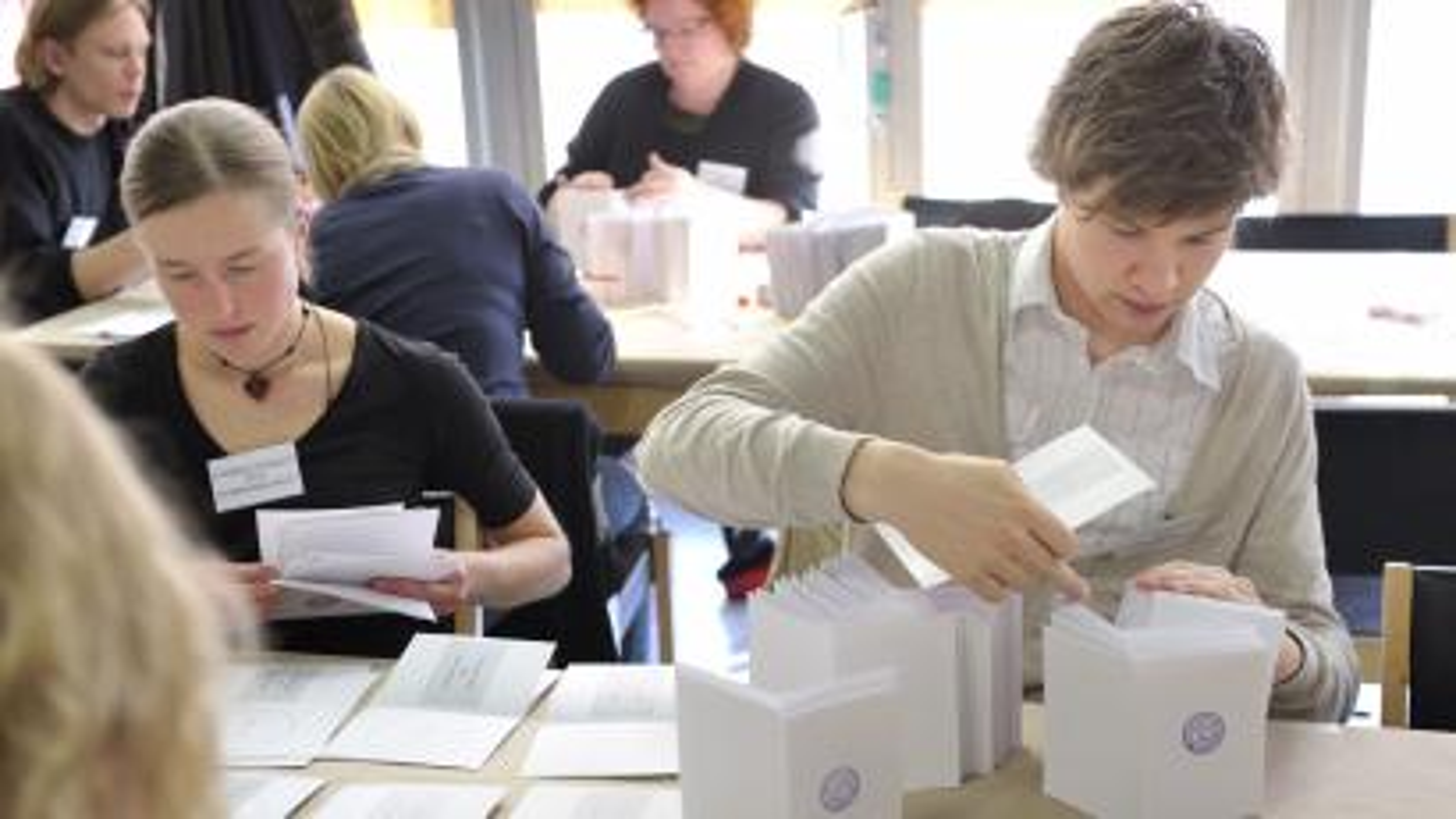 Finland Voting 10292012