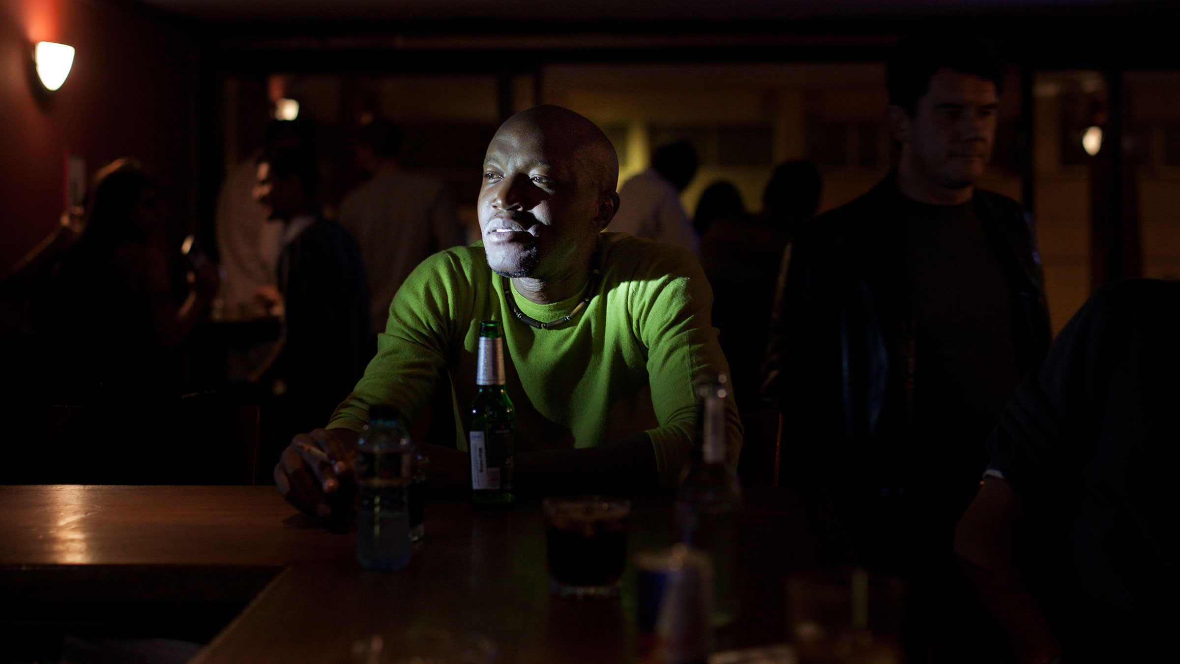 Luseno introduced the photographers to Nairobi's nightlife