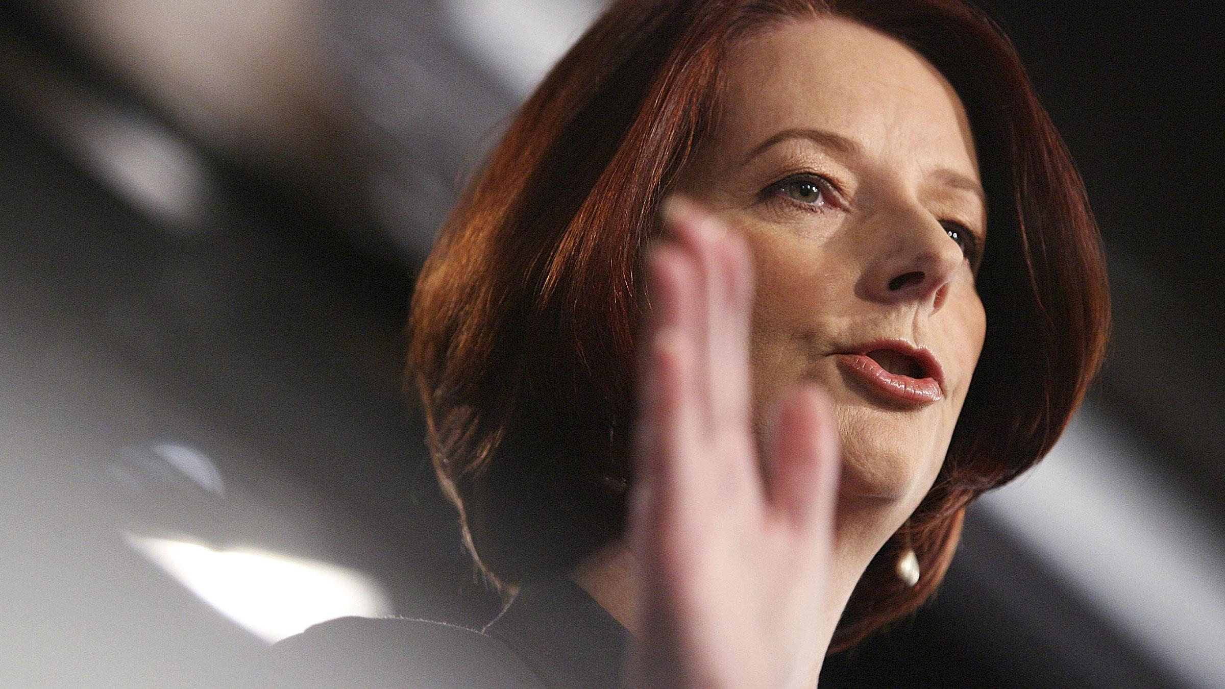 Julia Gillard 10222012