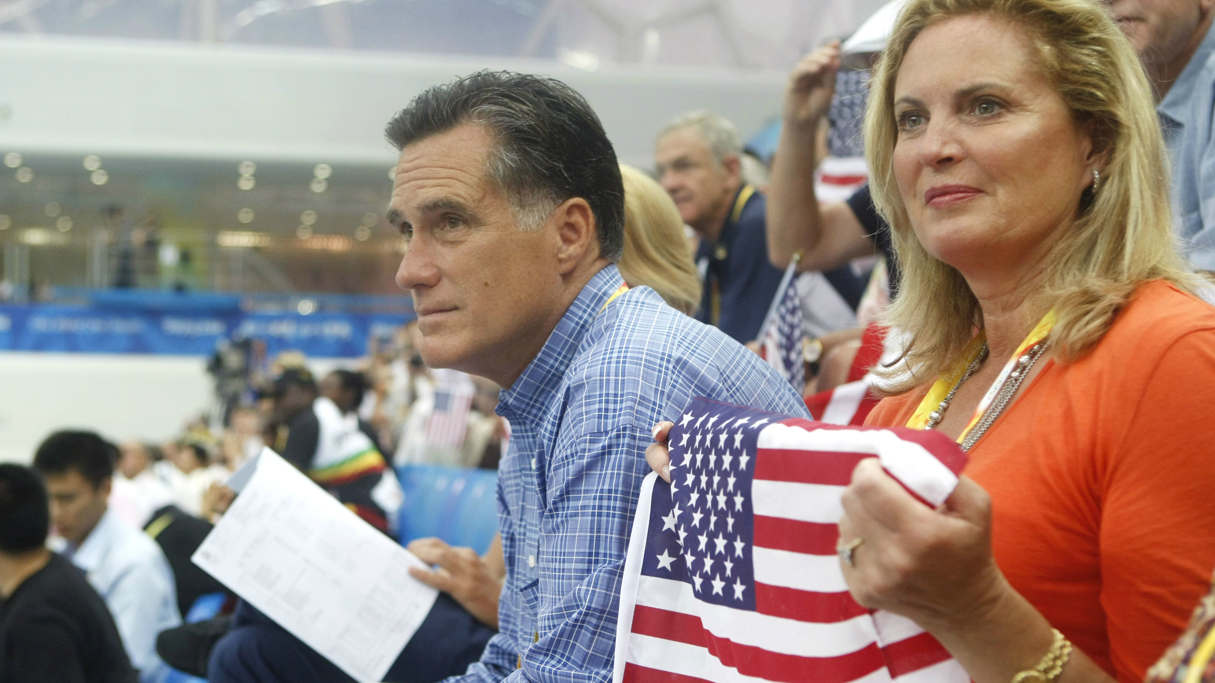 Mitt and Ann Romney in China
