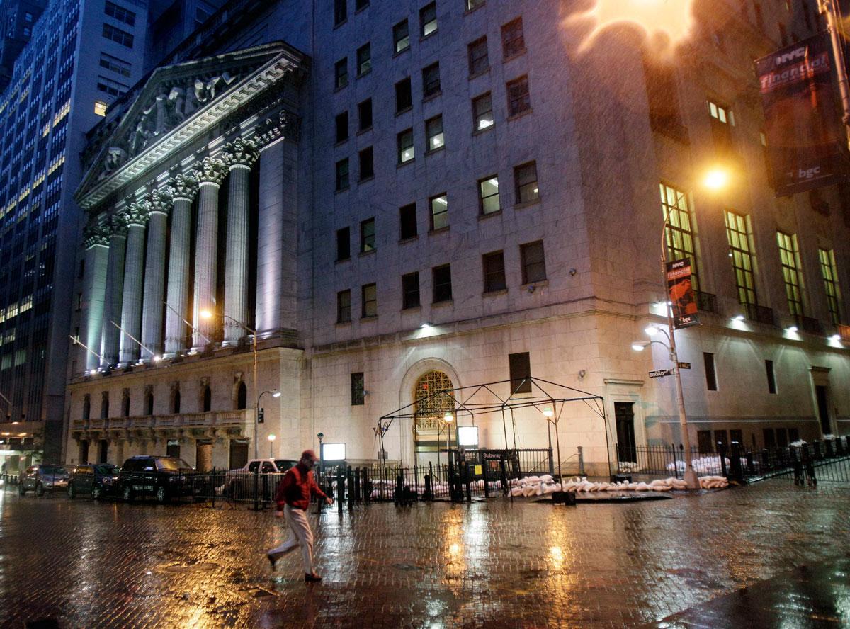 NYSE Outside Sandy