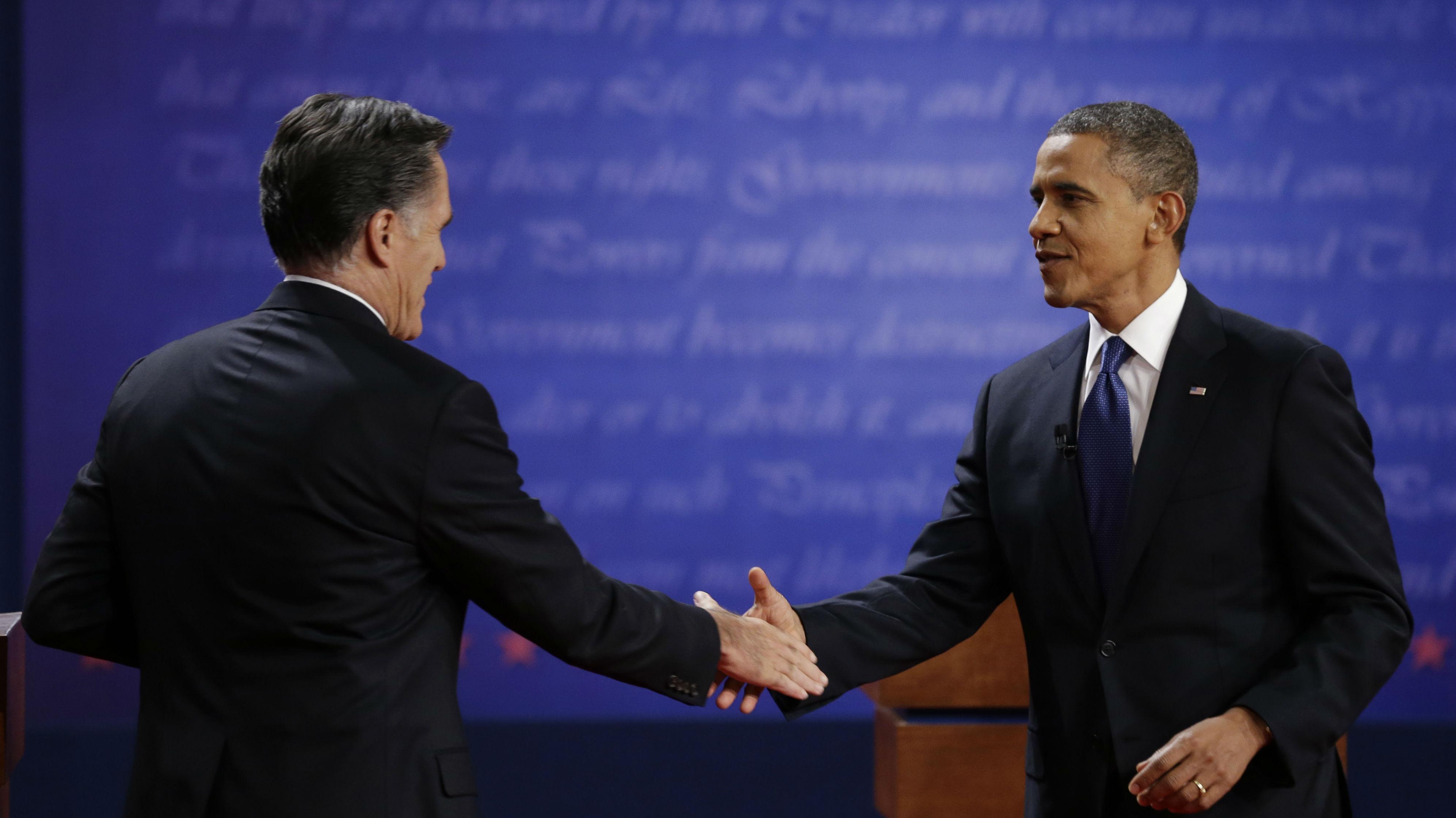 Obama Romney web