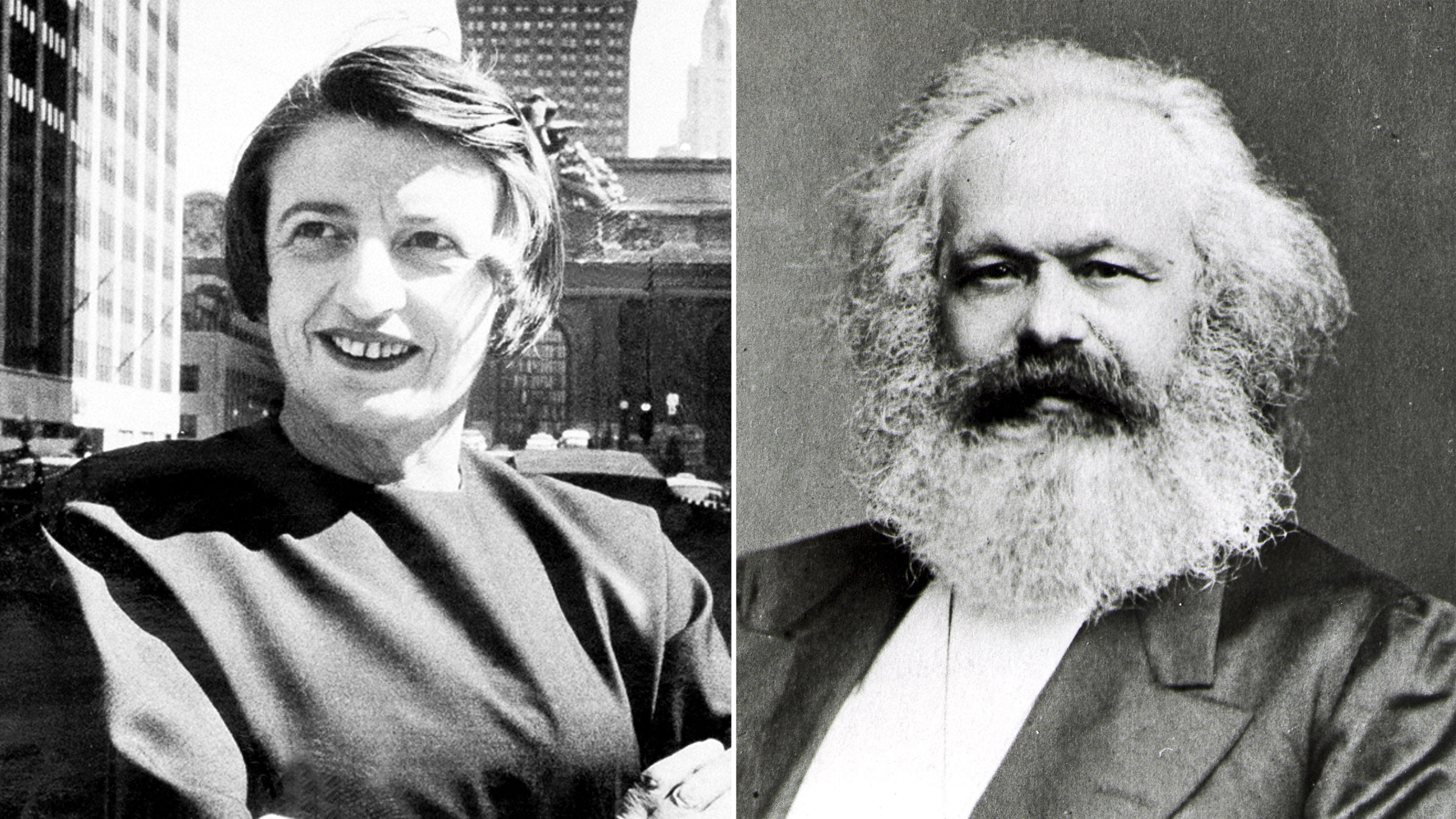 Ayn Rand and Karl Marx