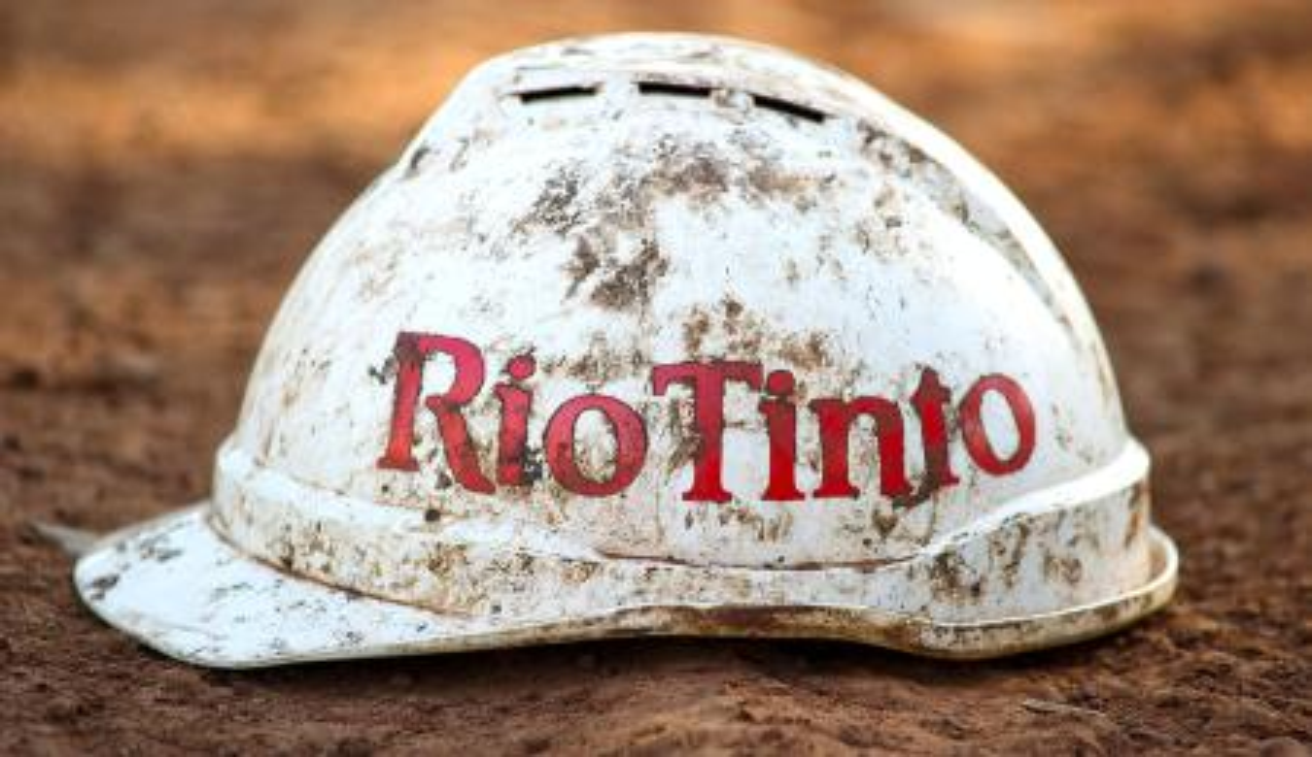 Rio Tinto Hat 10172012