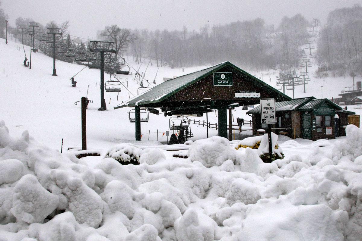 Sandy Snow 10312012