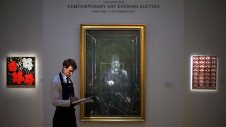 Sotheby and Francis Bacon's Untitled (Pope)