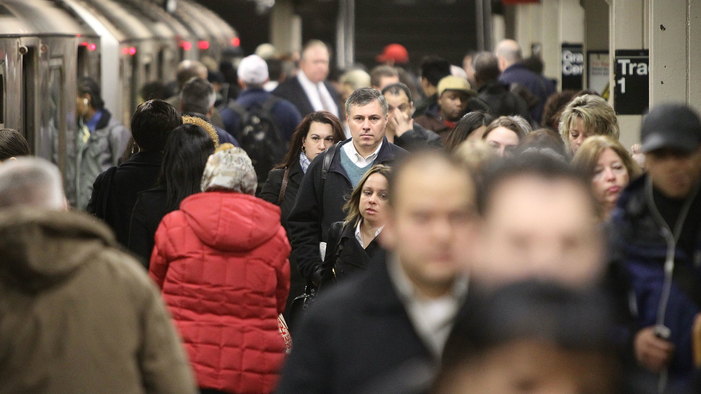 More than two million people take the subway to get to work every day in New York City.