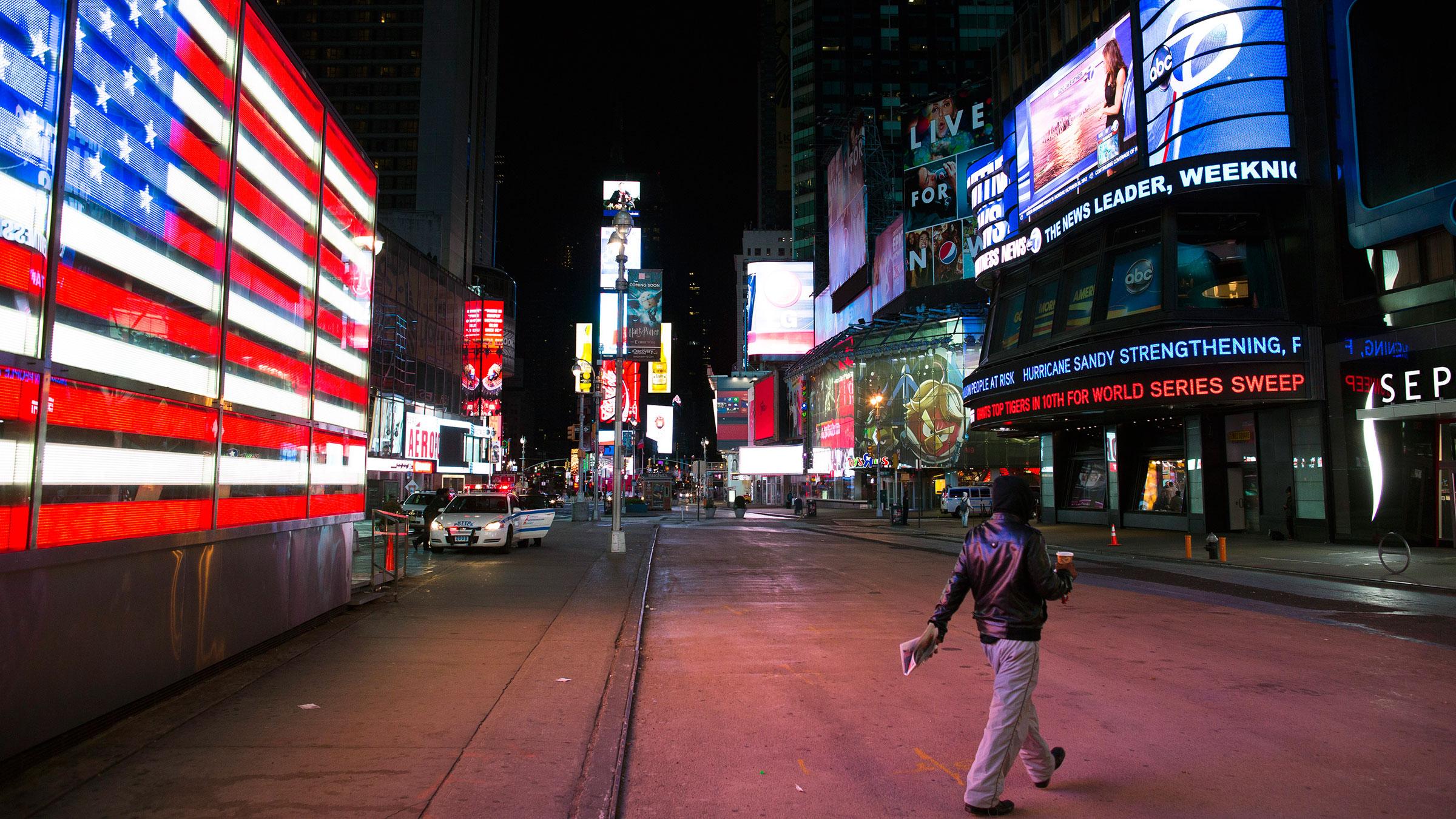 Times Square Sandy 10292012