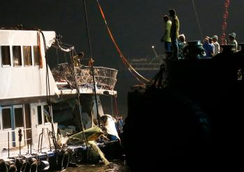 Hong Kong ferry collision- Oct 1 2012