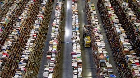 Nov. 26, 2012. The Amazon.com distribution center in Phoenix, Arizona on Cyber Monday.