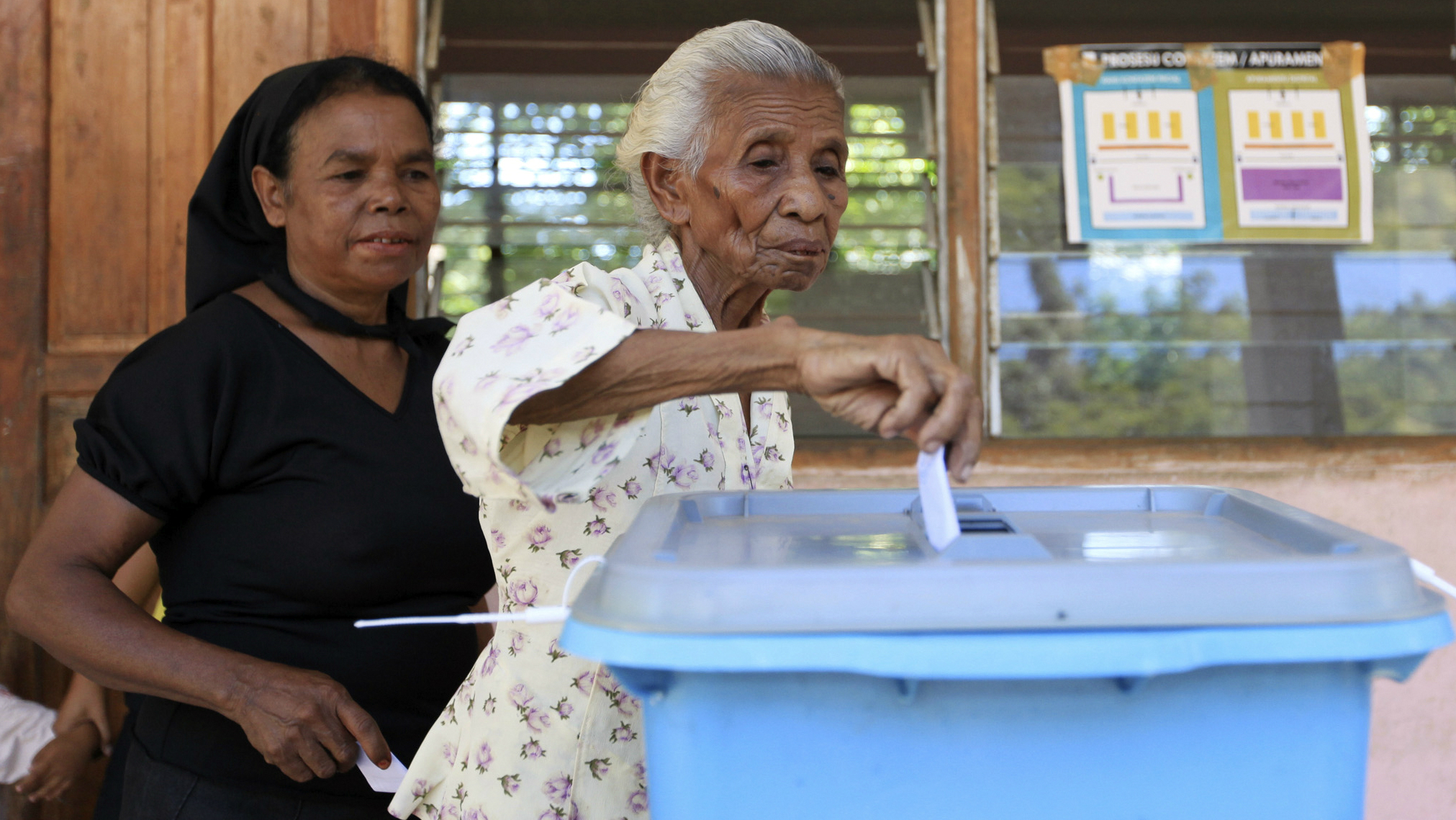 East Timor election