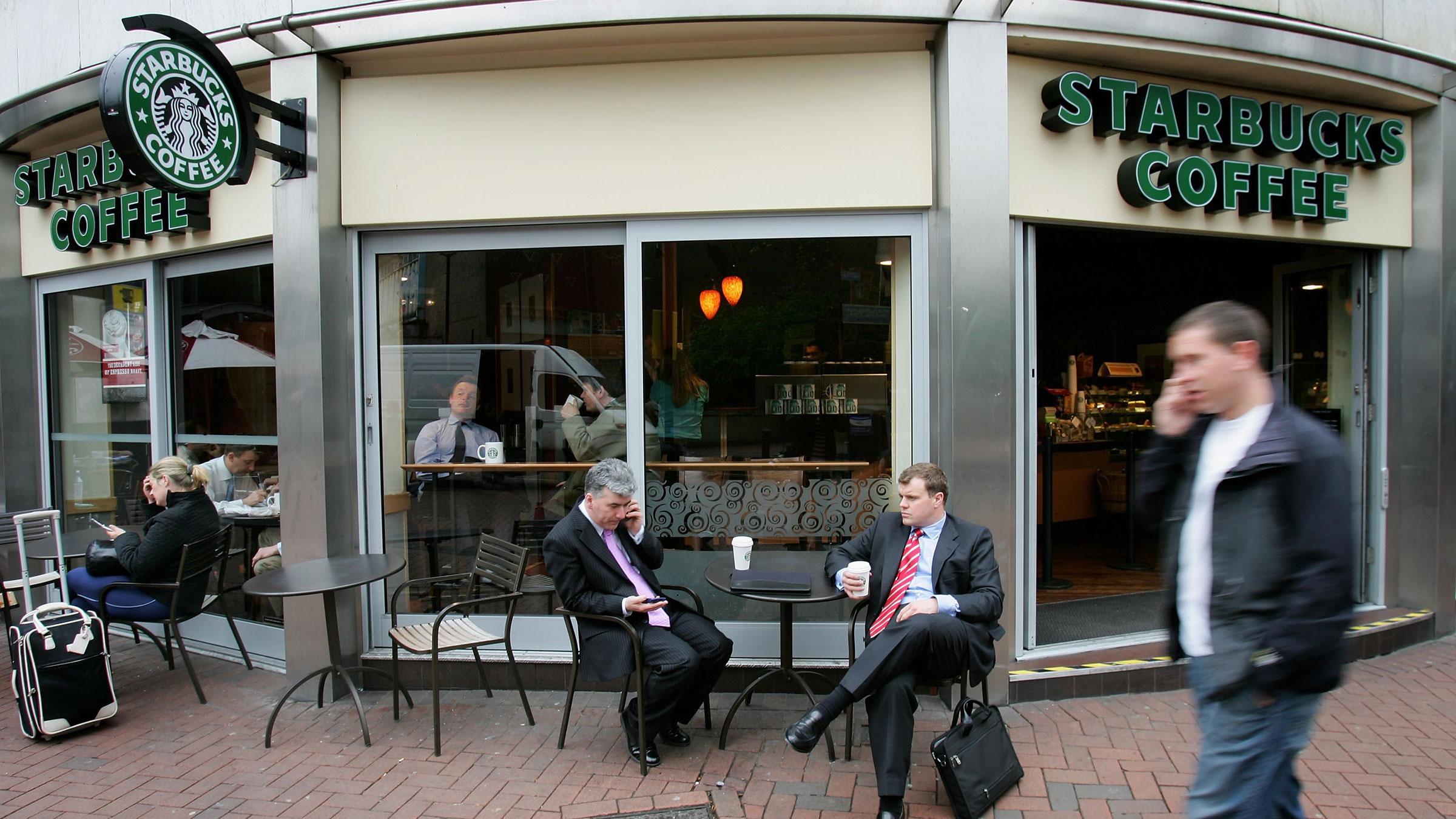 England Starbucks