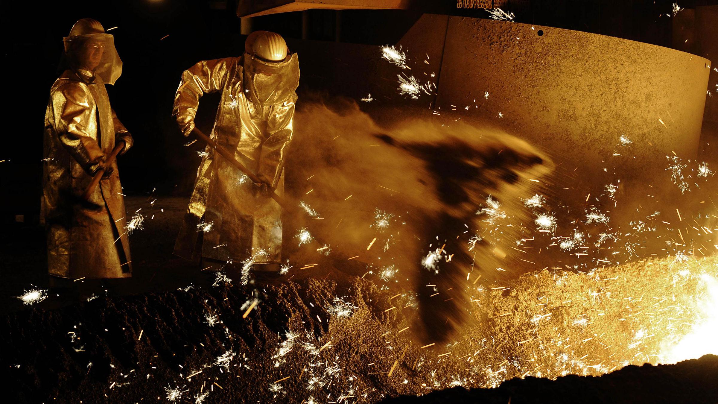 Steel Production Glut