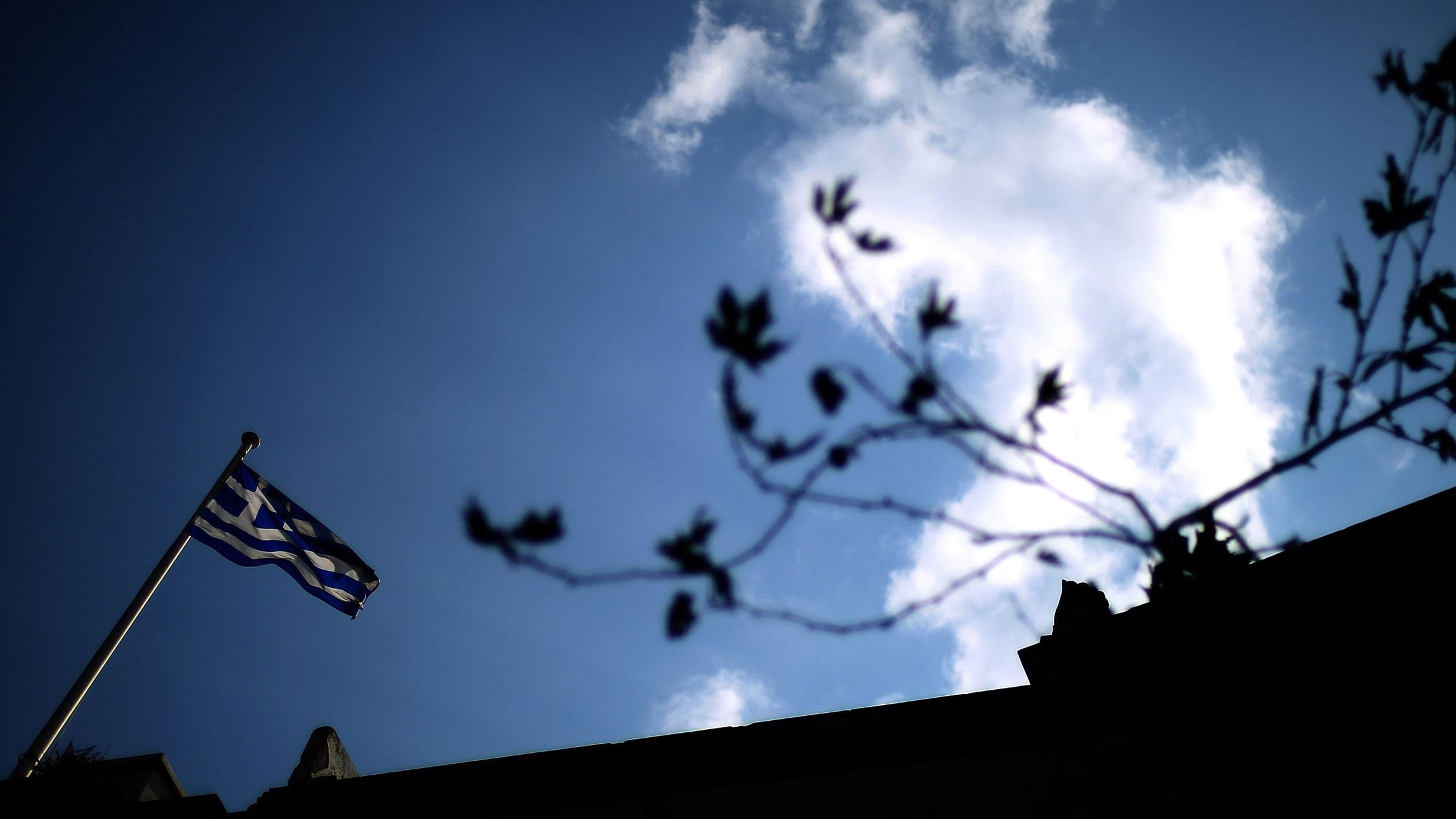 Greek Flag Shadow 11022012