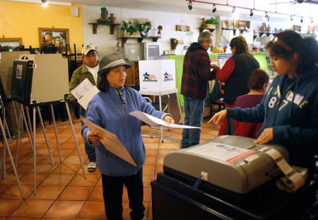 Mexican Restaurant Voting
