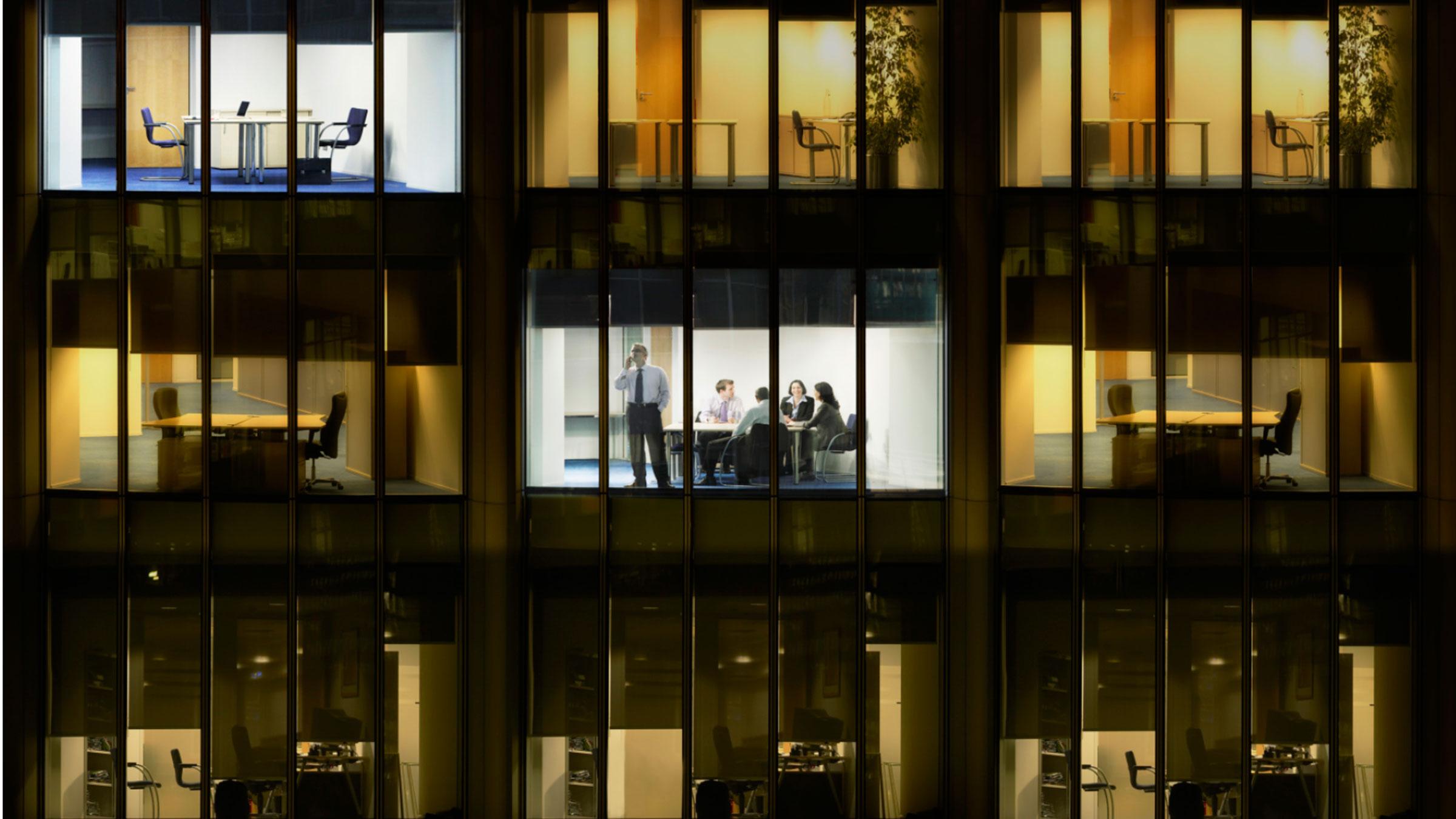 Office Building Lights 11152012