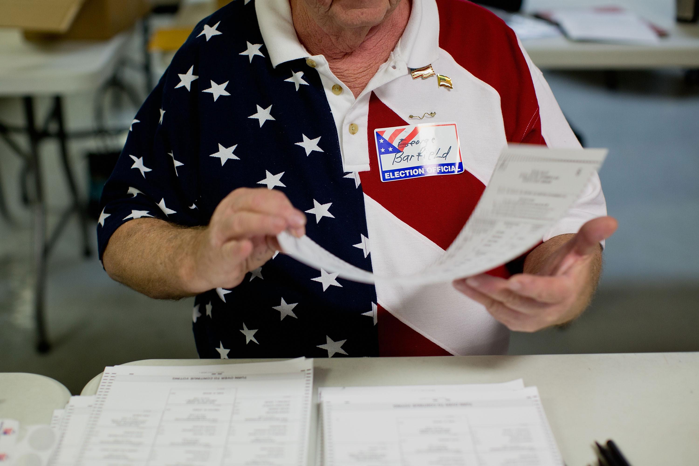 Paper ballots in Missouri