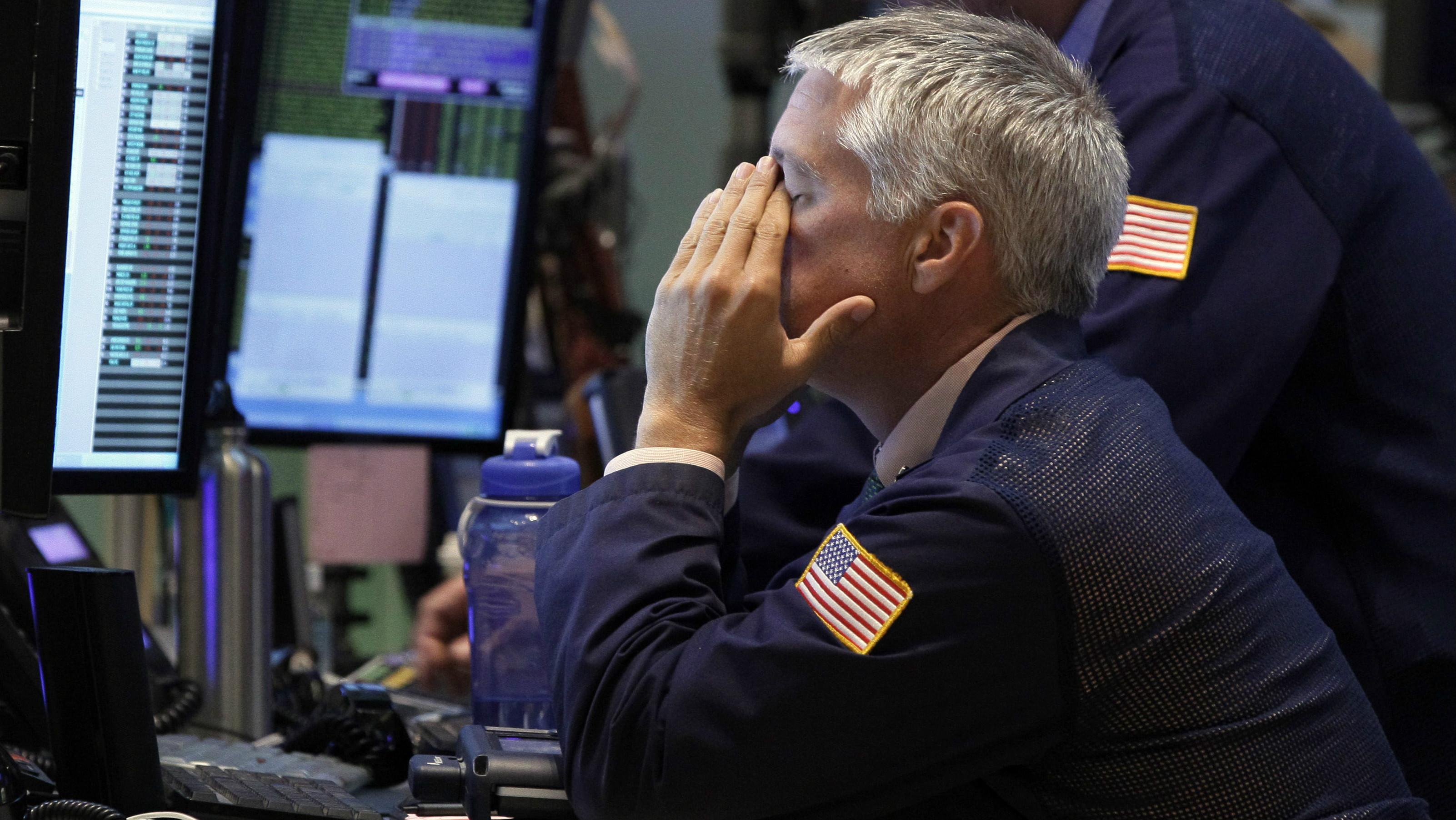 Sad Trader