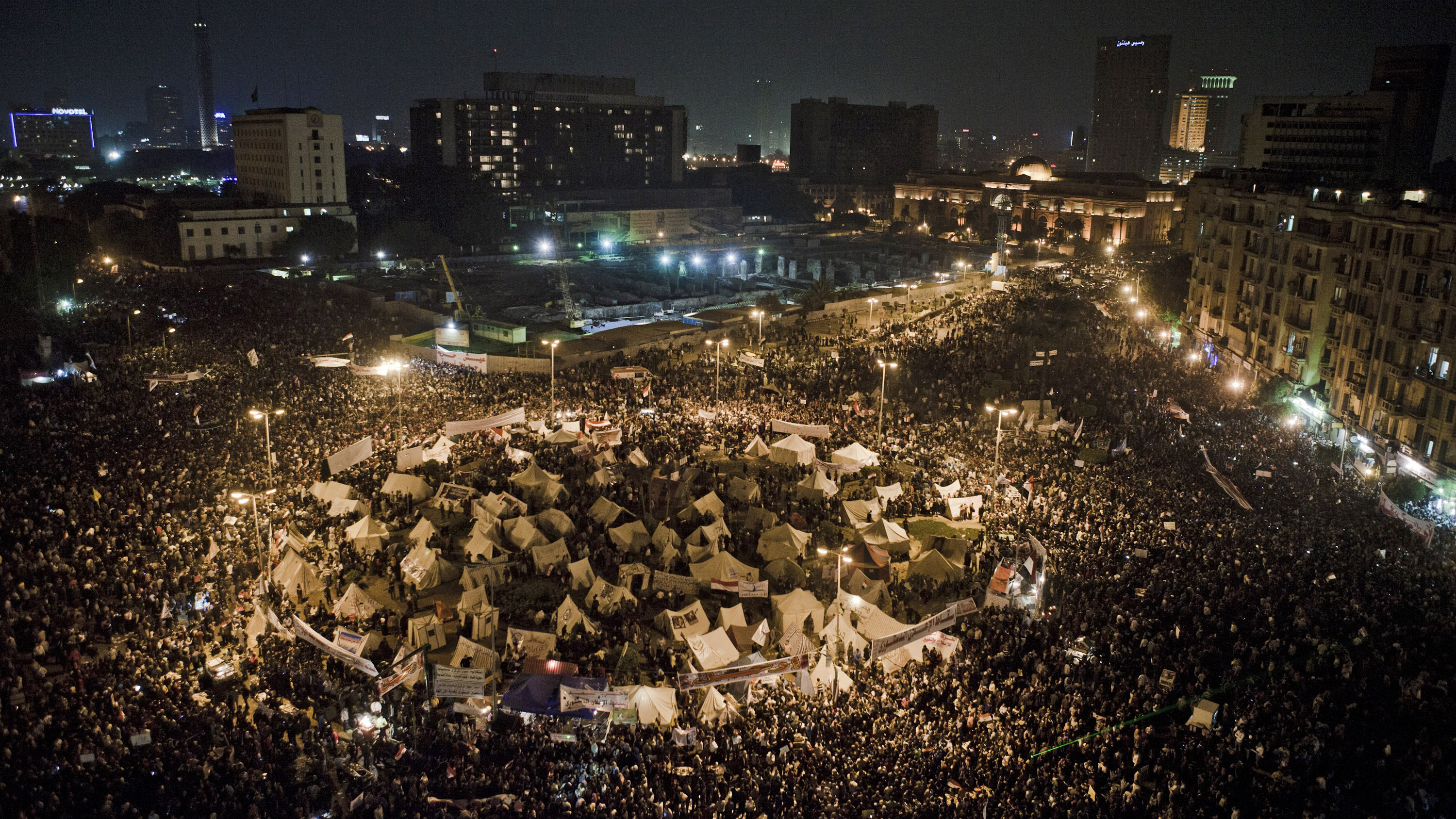 Thousands Gather To Protest Against Mohammed Mursi