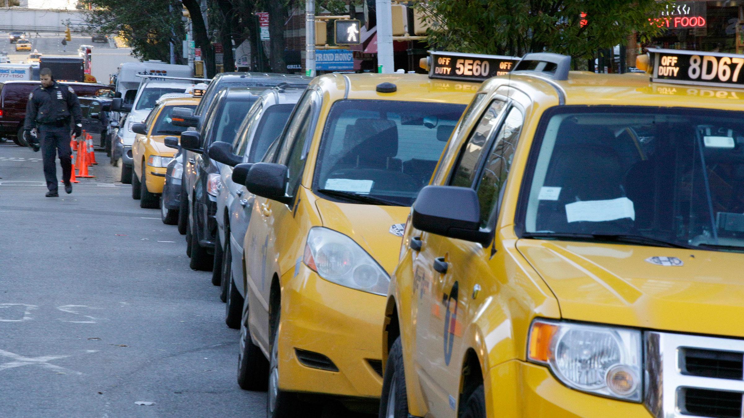 Taxi Gas Shortage 11092012