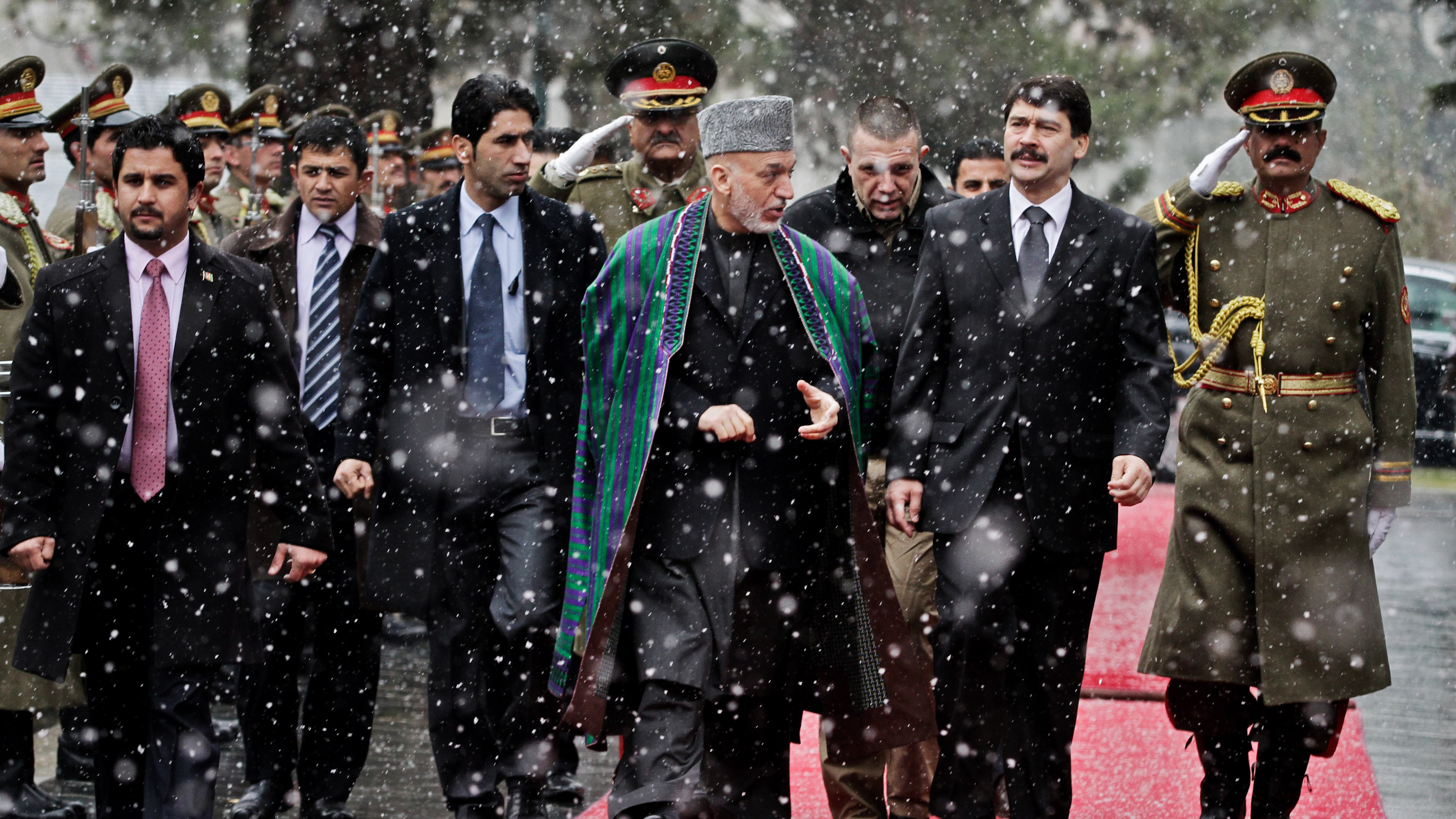 Hungarian and Afghan President