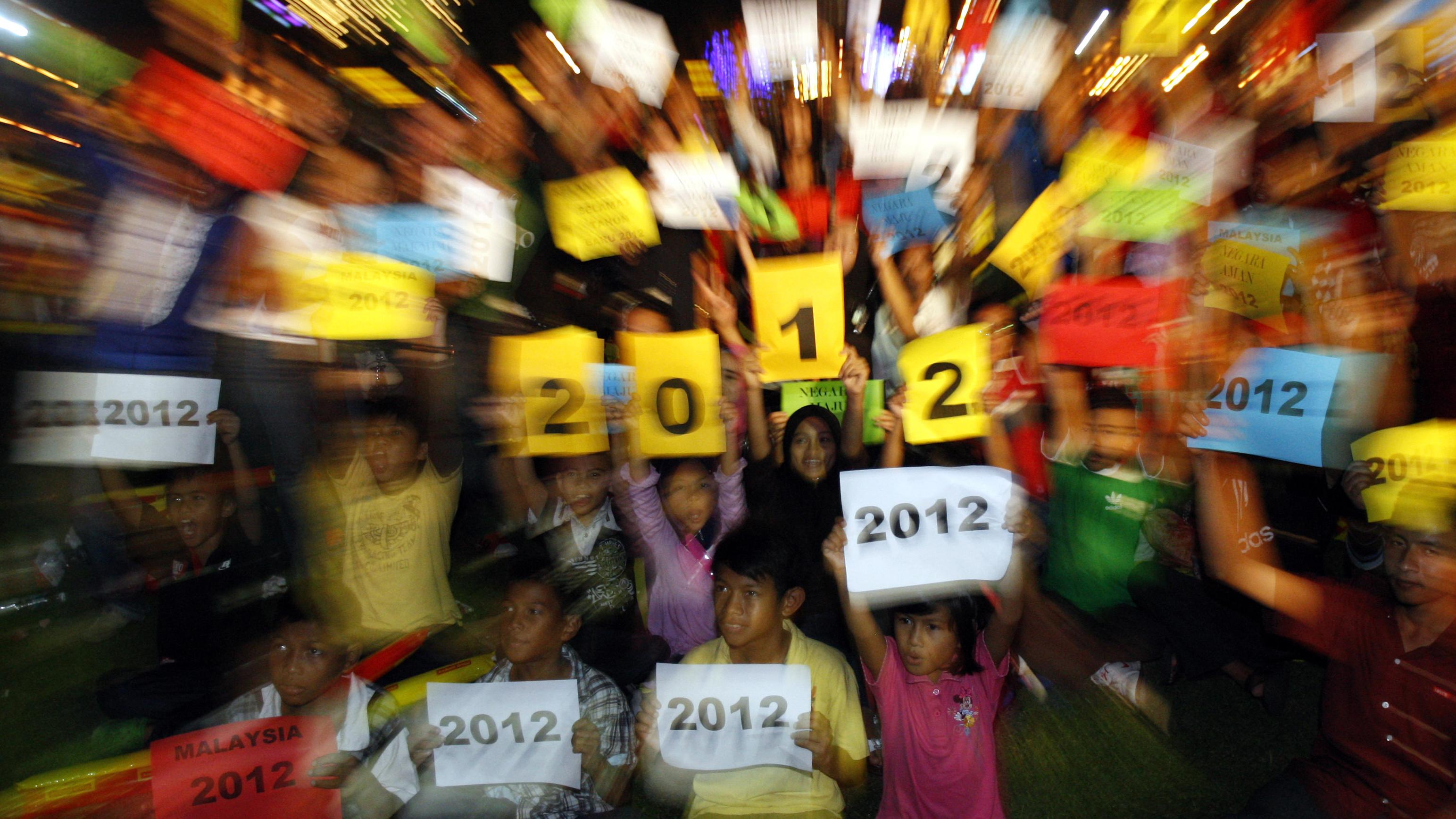 malaysia new year's celebration 2012