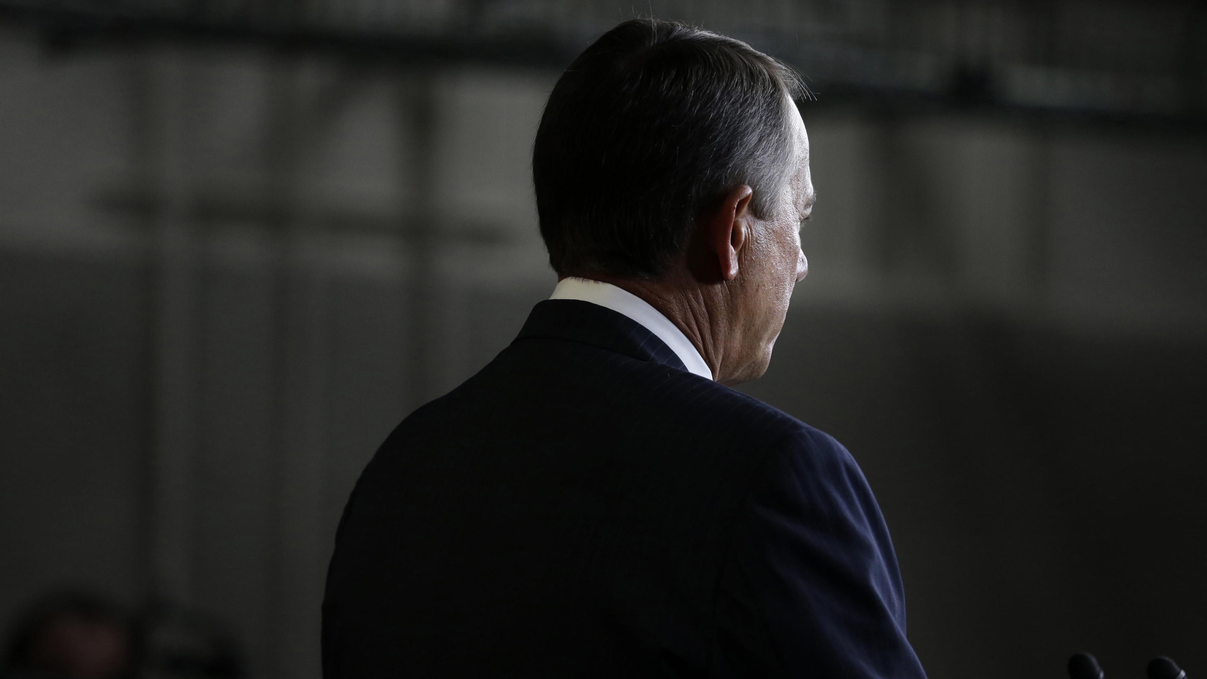 Speaker John Boehner on the fiscal cliff