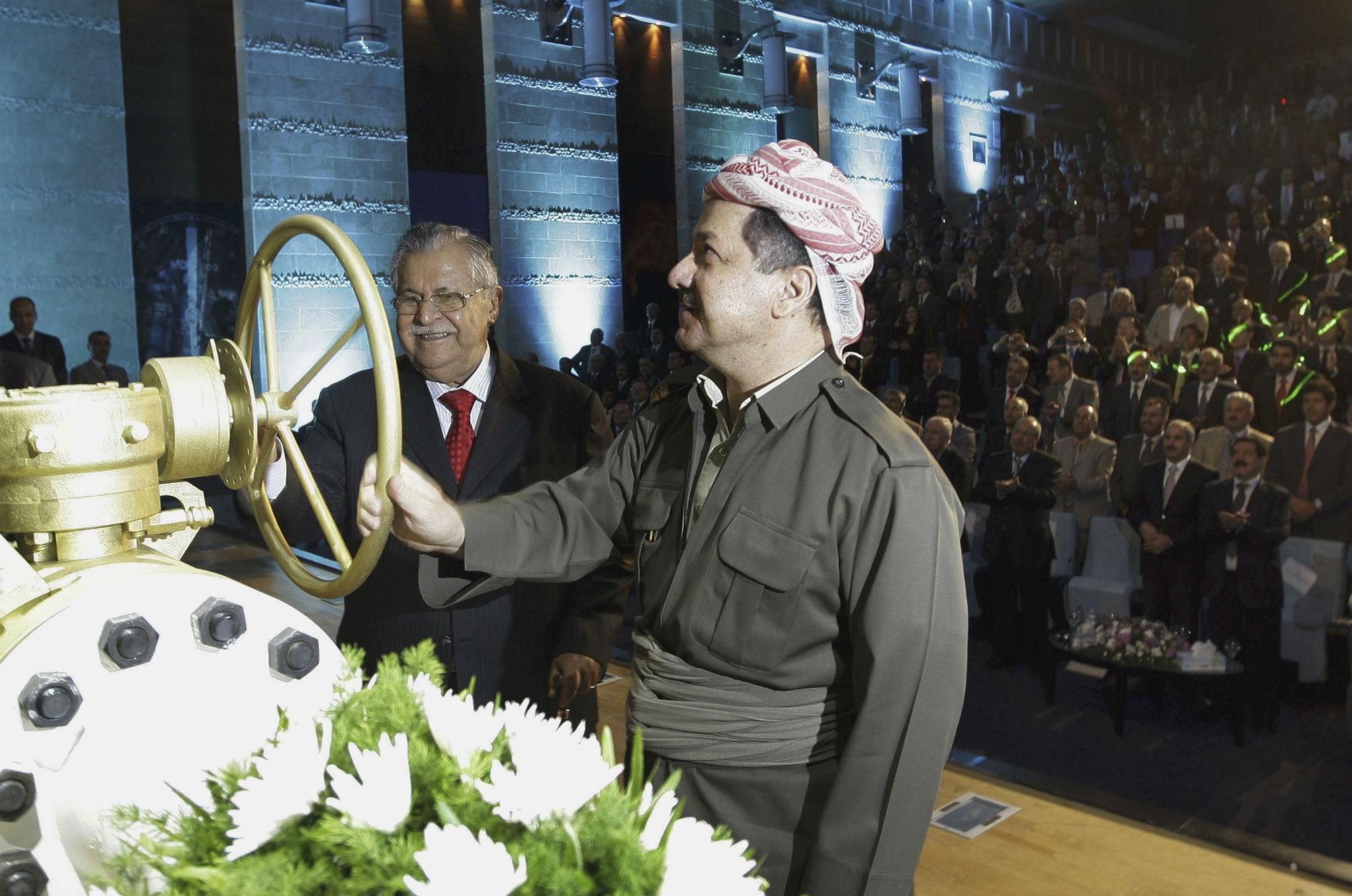 Kurdistan oil, Talabani, Barzani