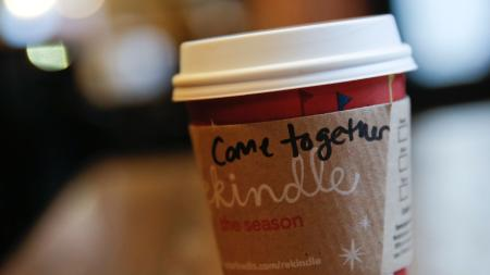 starbucks, come together