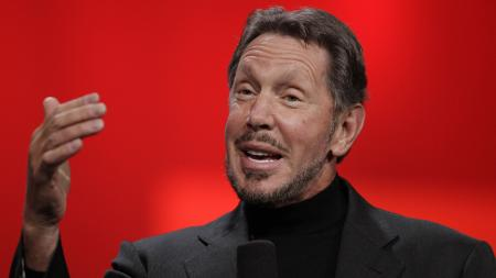 Larry Ellison: About to get richer.