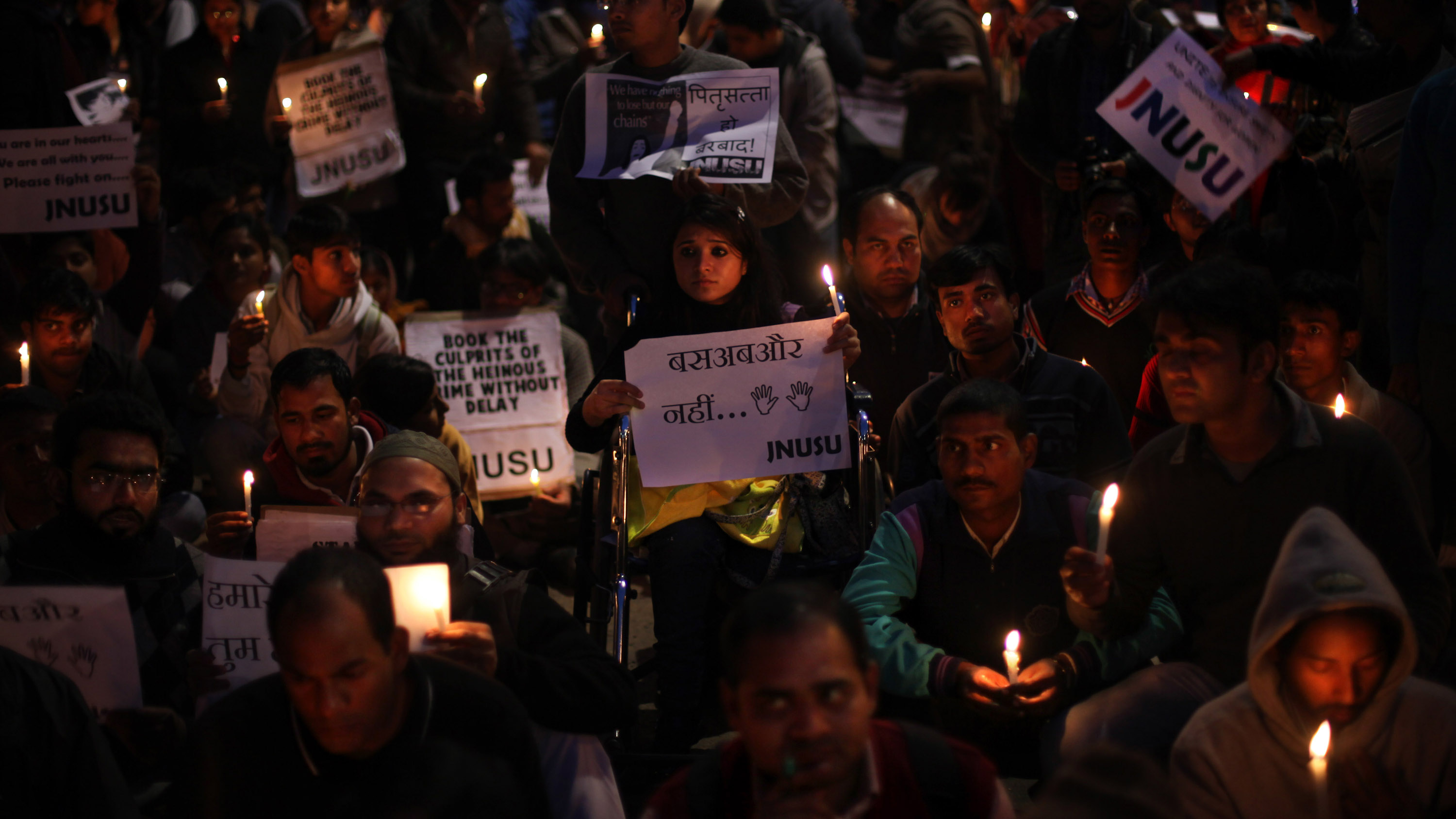 India Gang Rape vigil