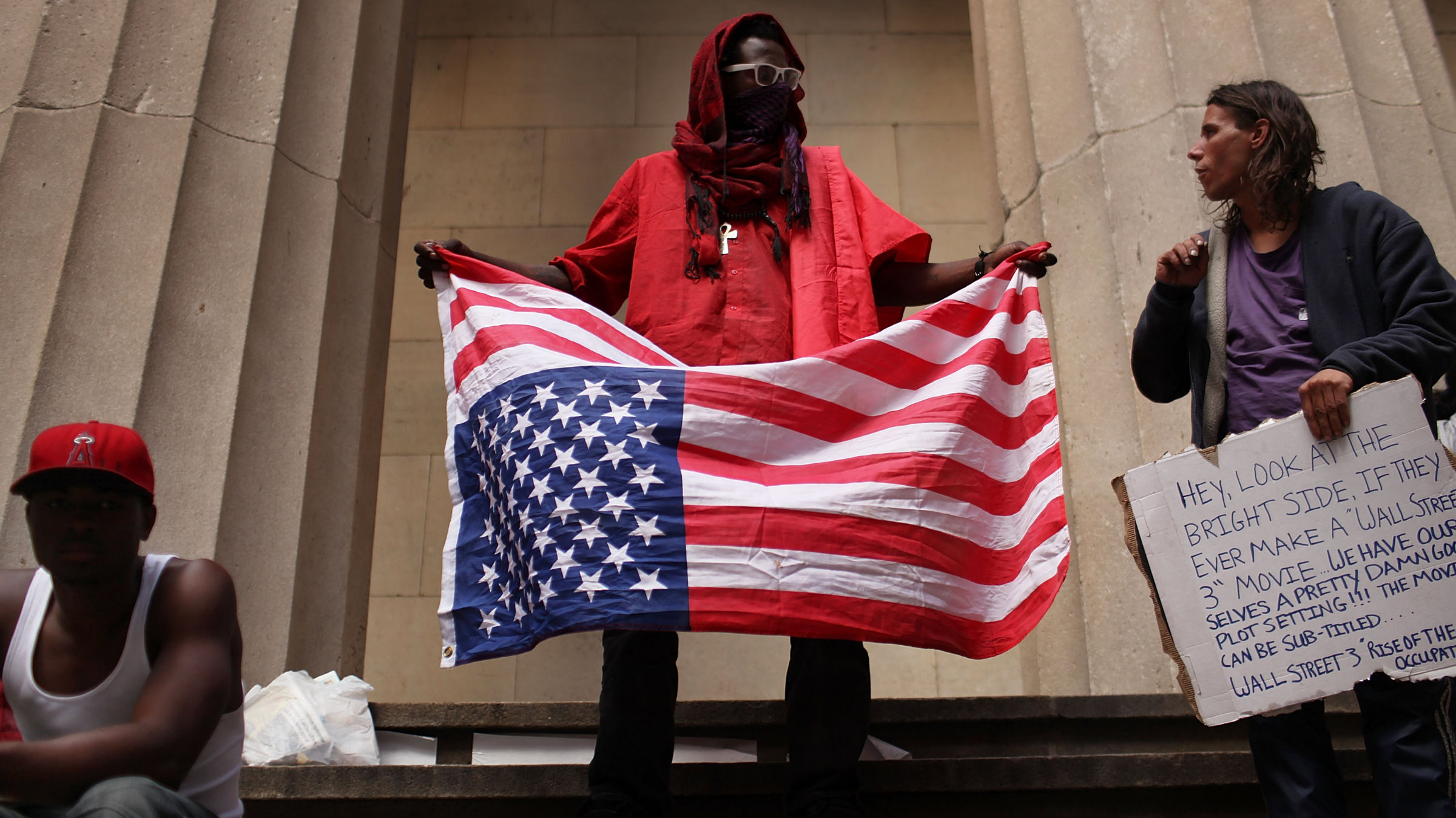 Occupy Wall Street was the pinnacle of outrage over American income inequality.