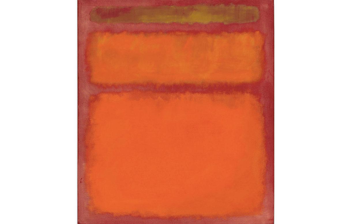 orange red yellow, mark rothko