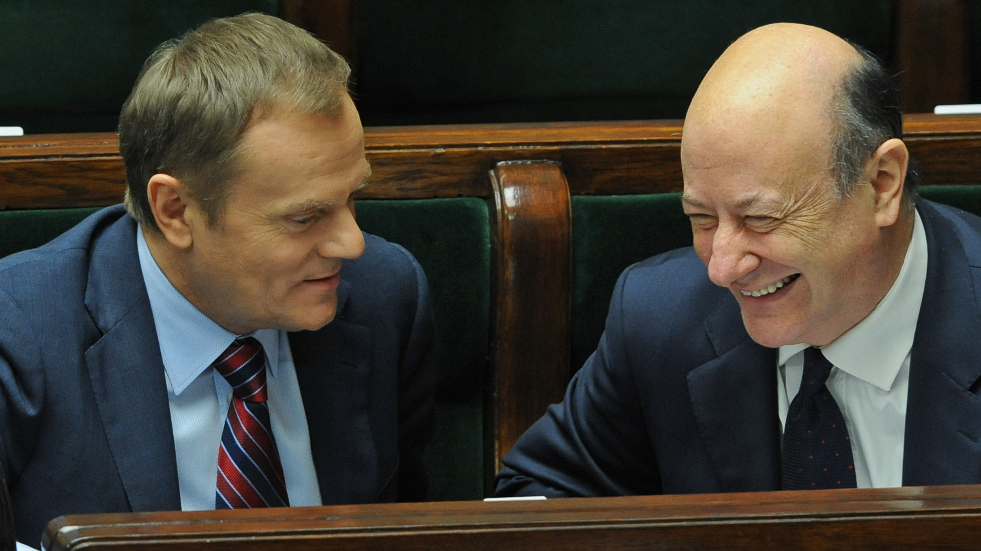 Poland's Prime Minister and Financial Minister